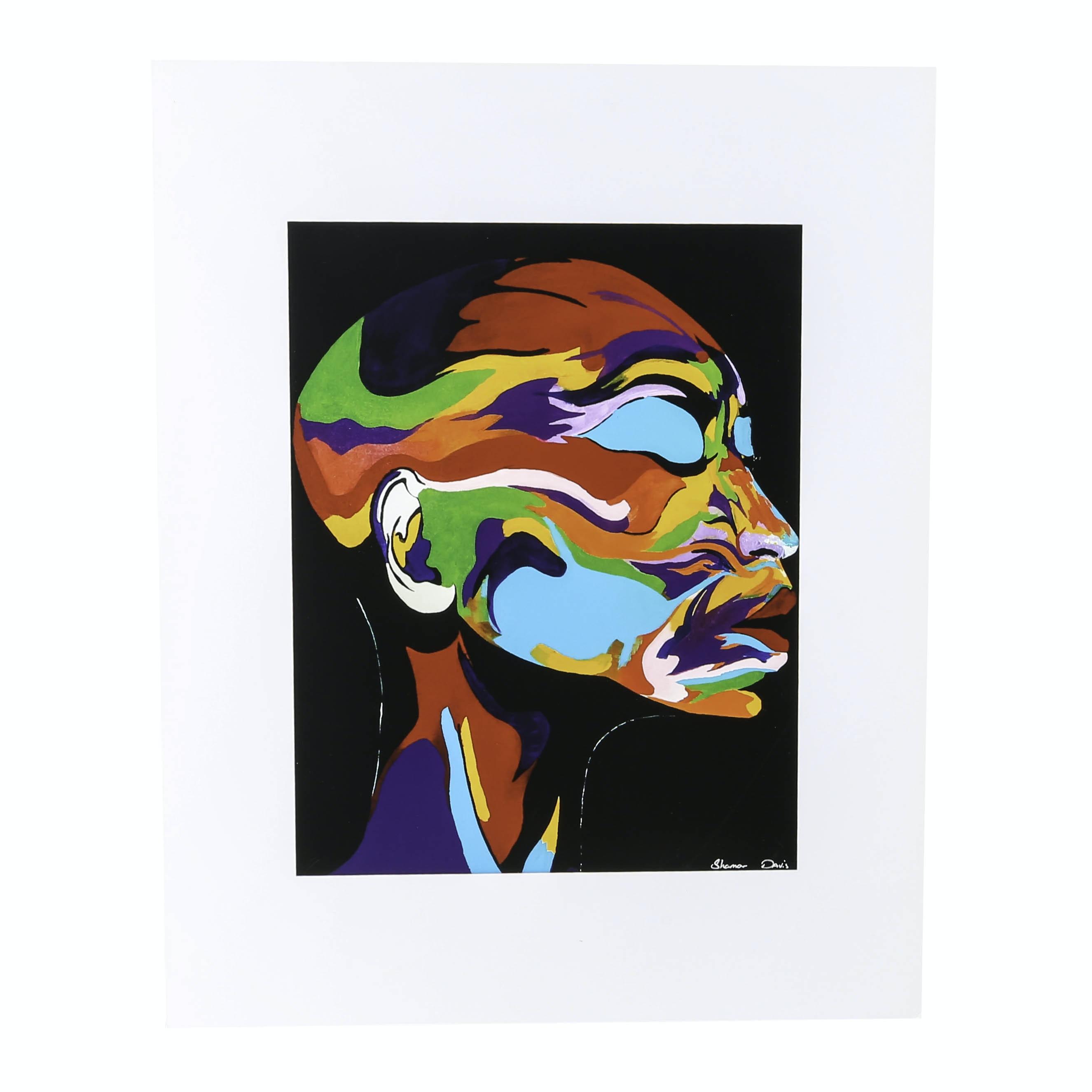 "Shamar Davis Reproduction Print ""Life's Beauty"""
