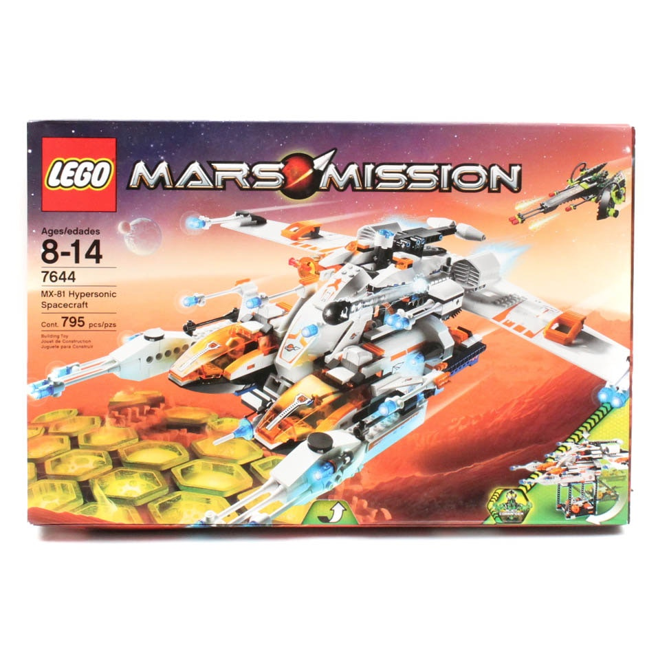 "Lego ""Mars Mission"" 7644 ""MX-81 Hypersonic Spacecraft"""