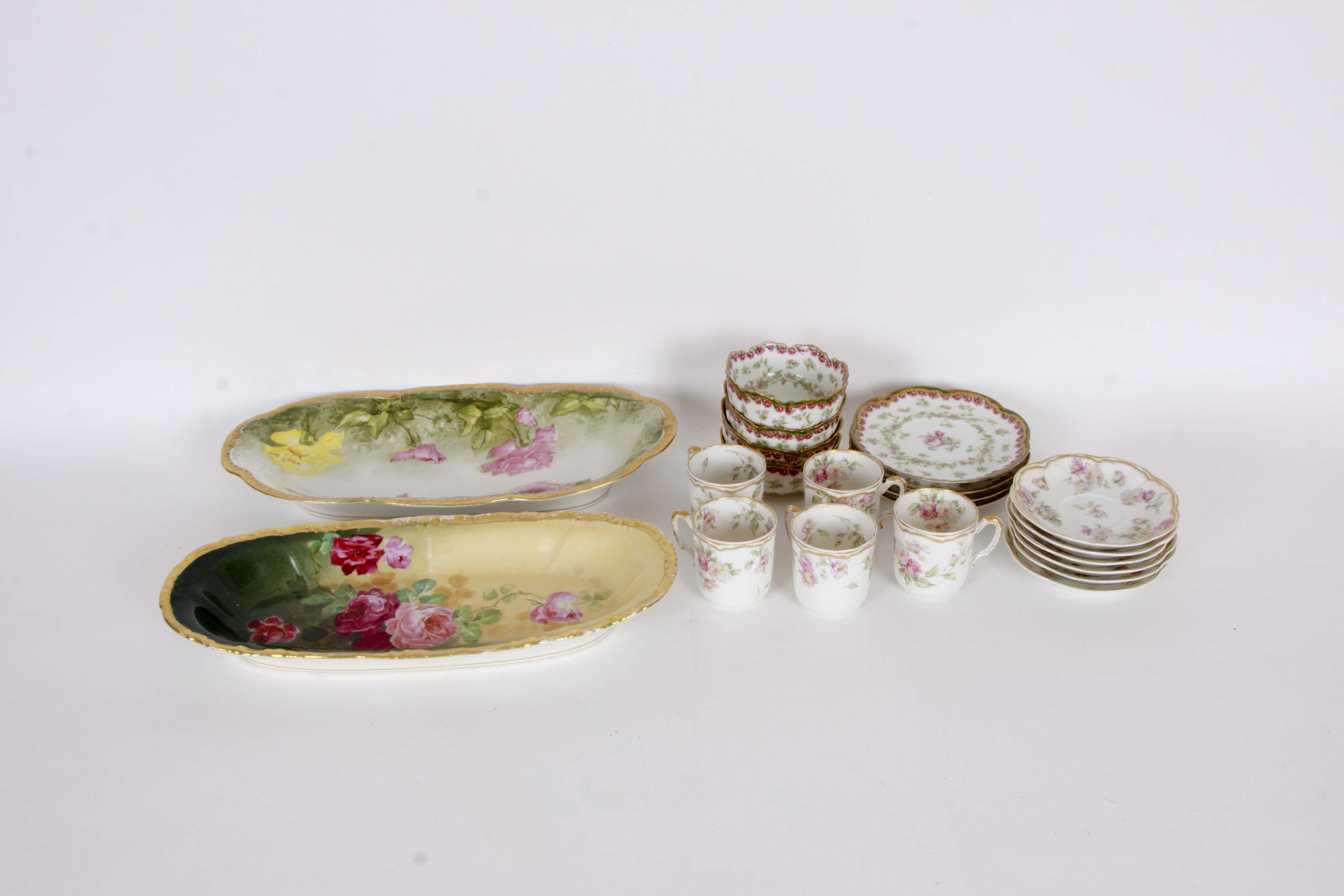 Vintage Limoges Porcelain Collection