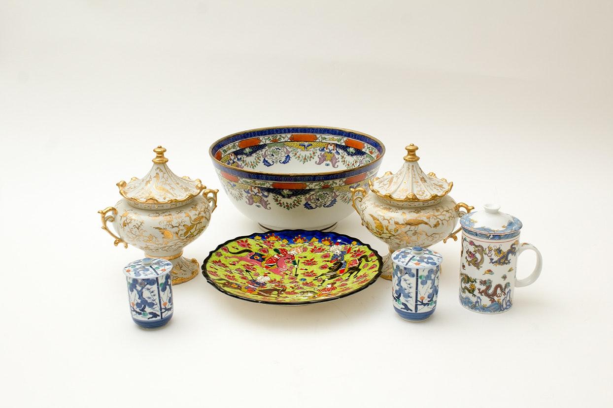 Collection of Asian Porcelain Including Ardalt Japan
