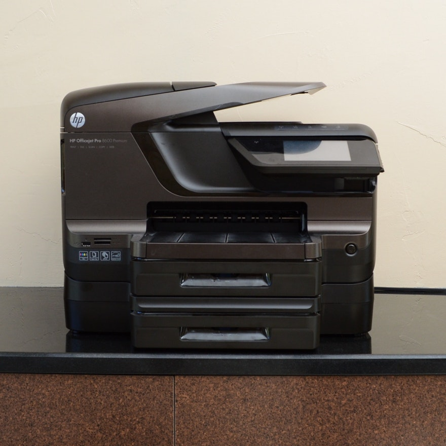 Hp Officejet Pro 8600 Premium Four In One Printer Ebth