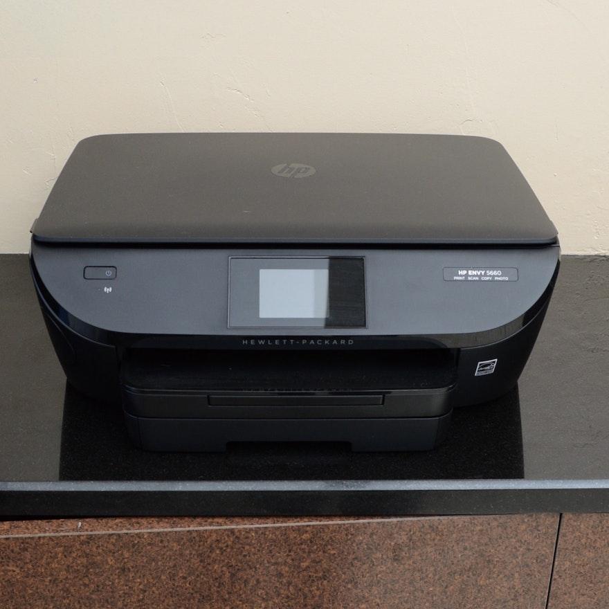 Hp Envy 5660 Four In One Printer Ebth