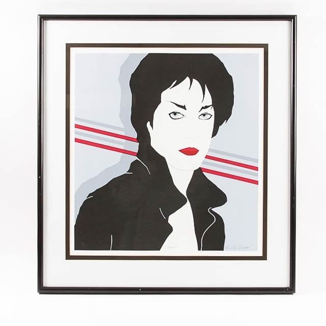 "Signed Limited Edition Serigraph ""Sara"""