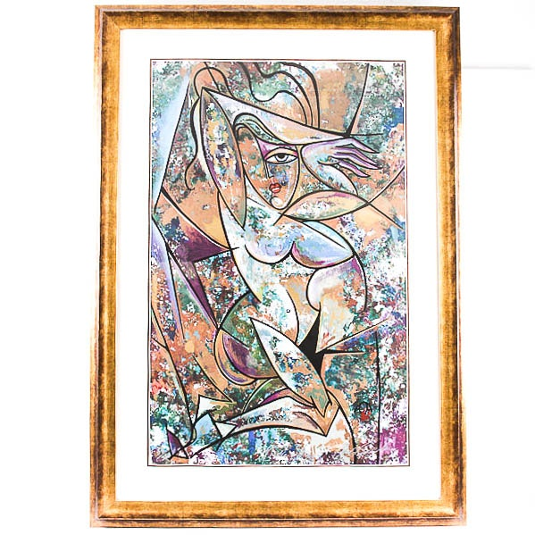 "Anthony Armstrong ""Nude with Drapery II"" Signed Limited Edition Serigraph"