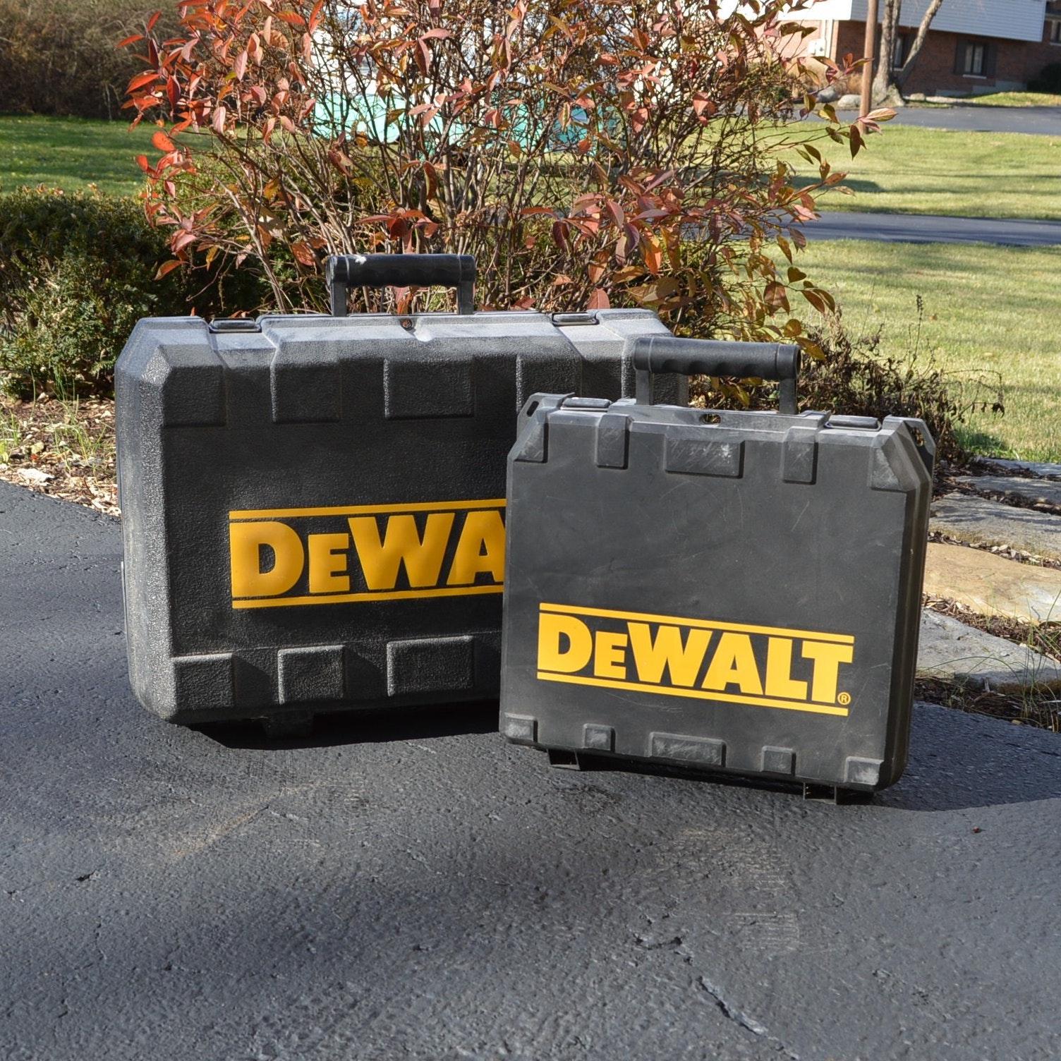 DeWalt 18V Drill and Circular Saw