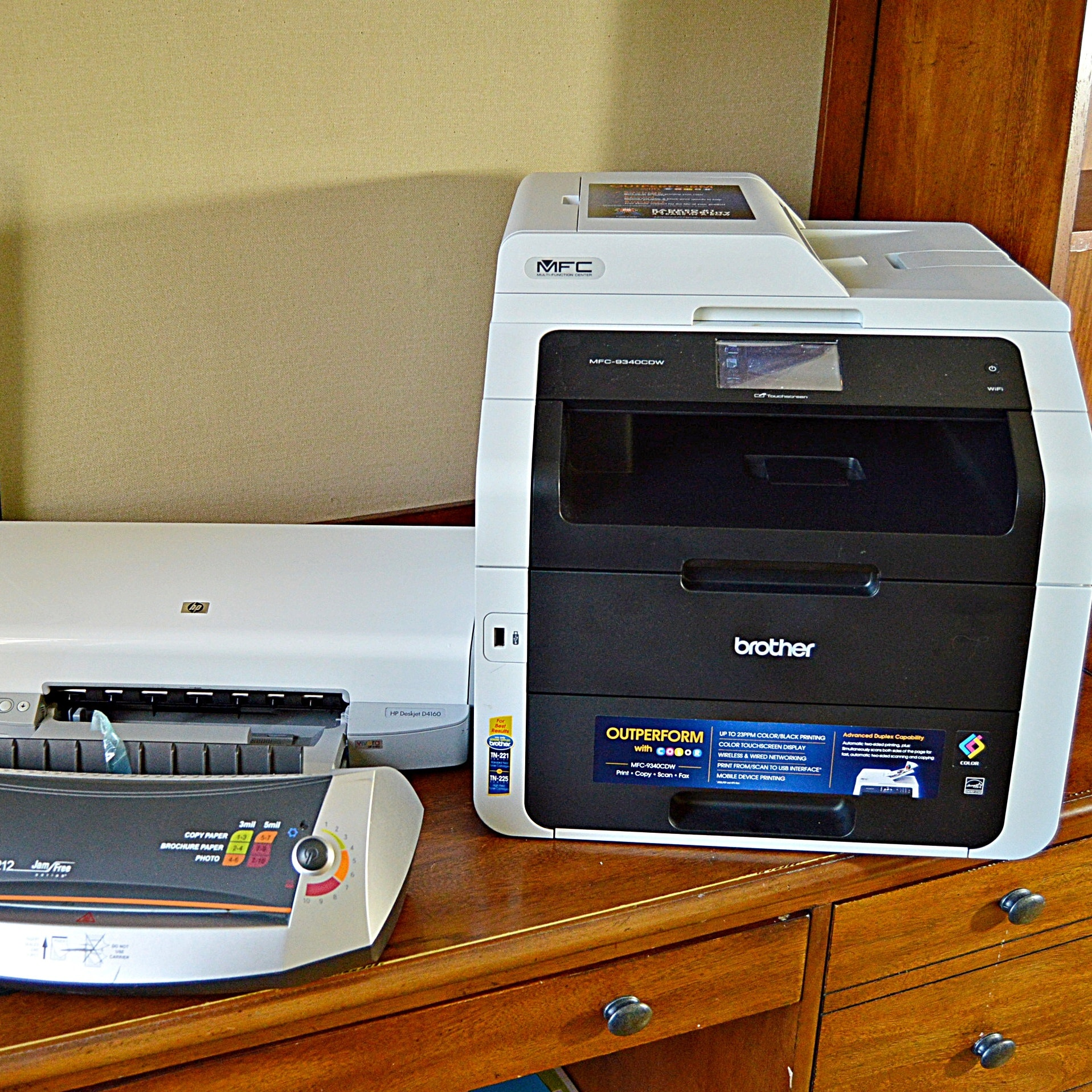 Office Equipment With Brother Color Printer