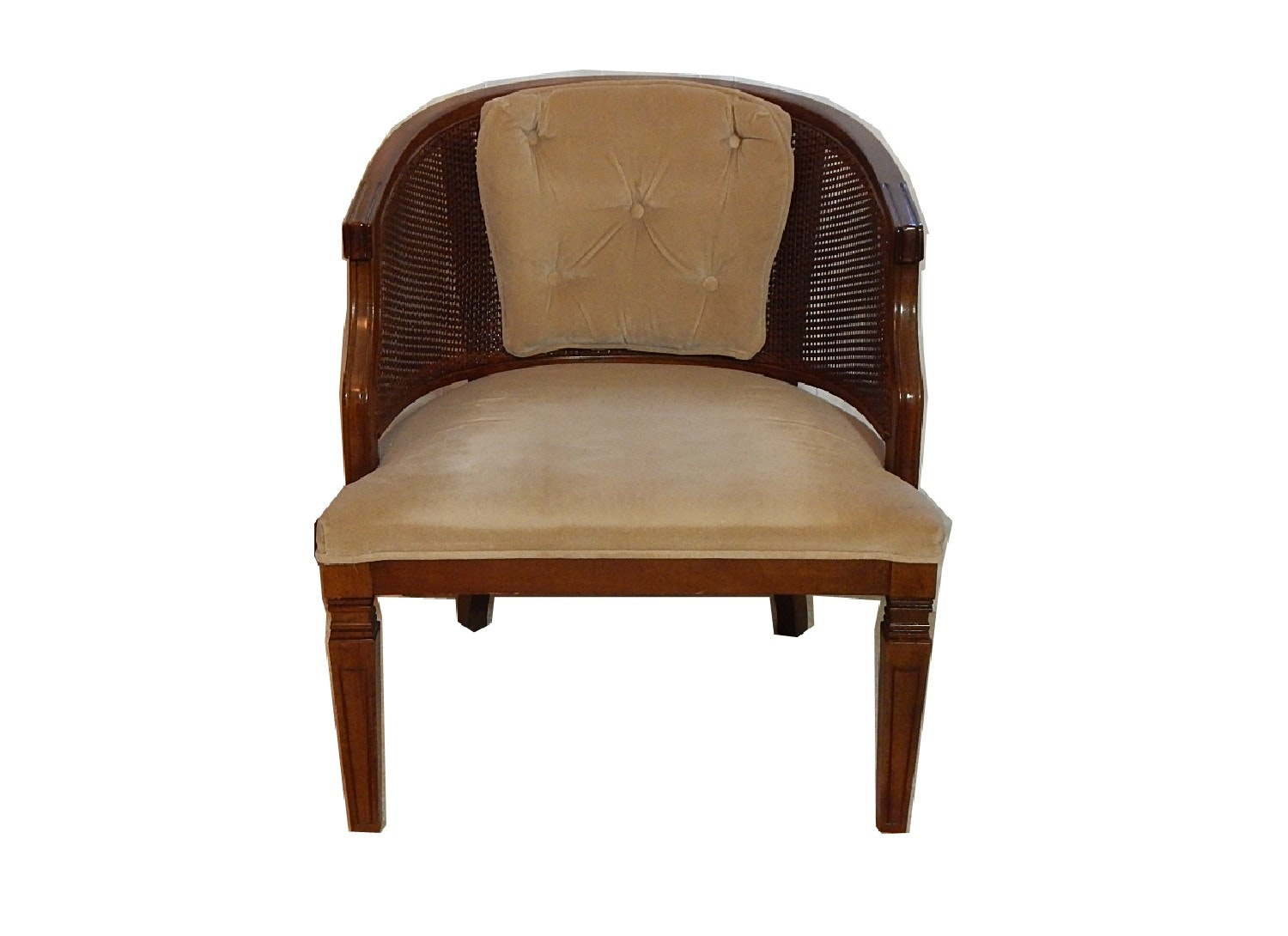 Mid-Century Barrel Back Chair