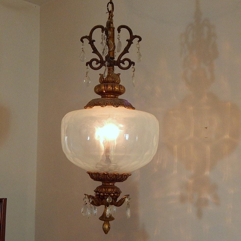 Victorian Hanging Lamp Fixtures