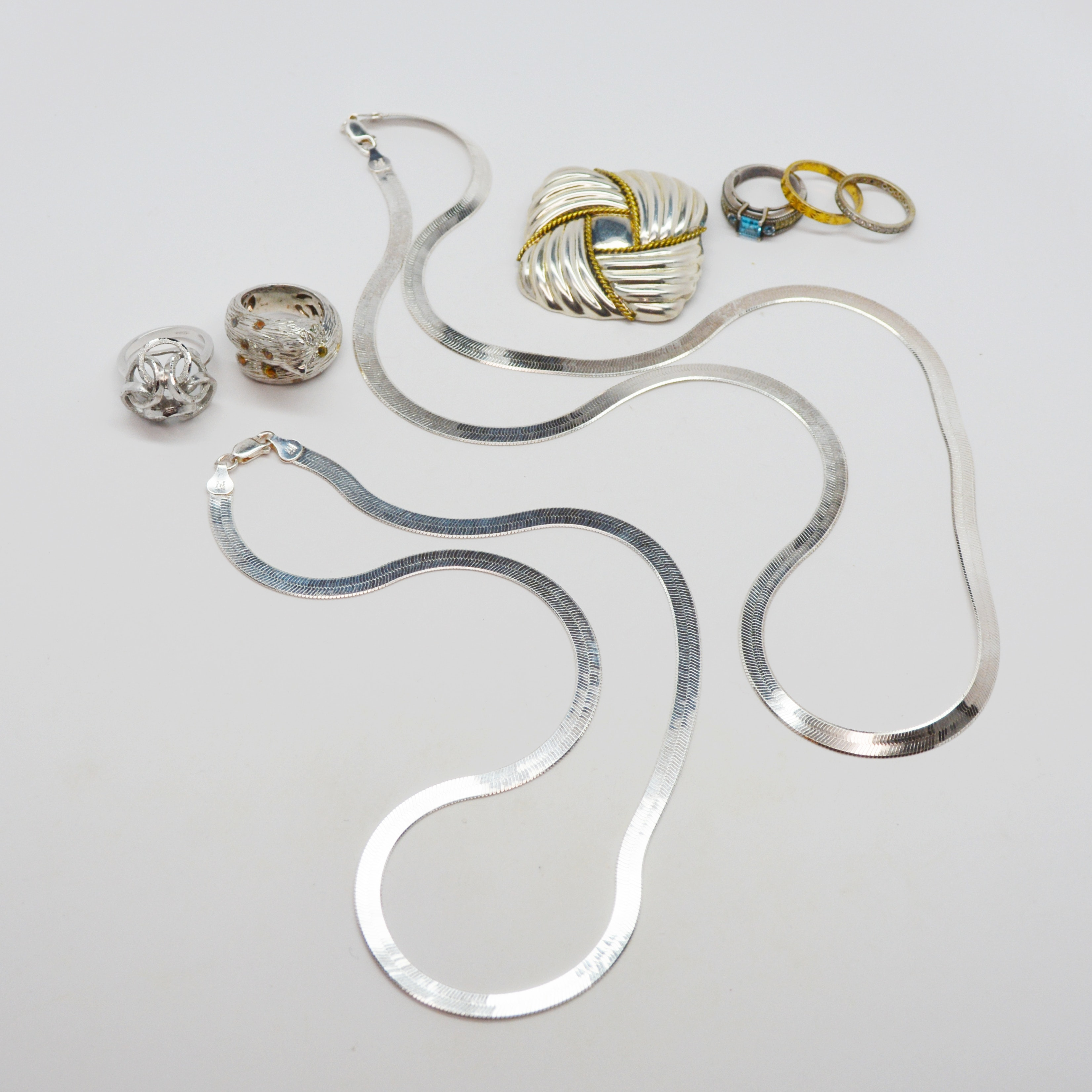 Sterling Silver Jewelry Collection