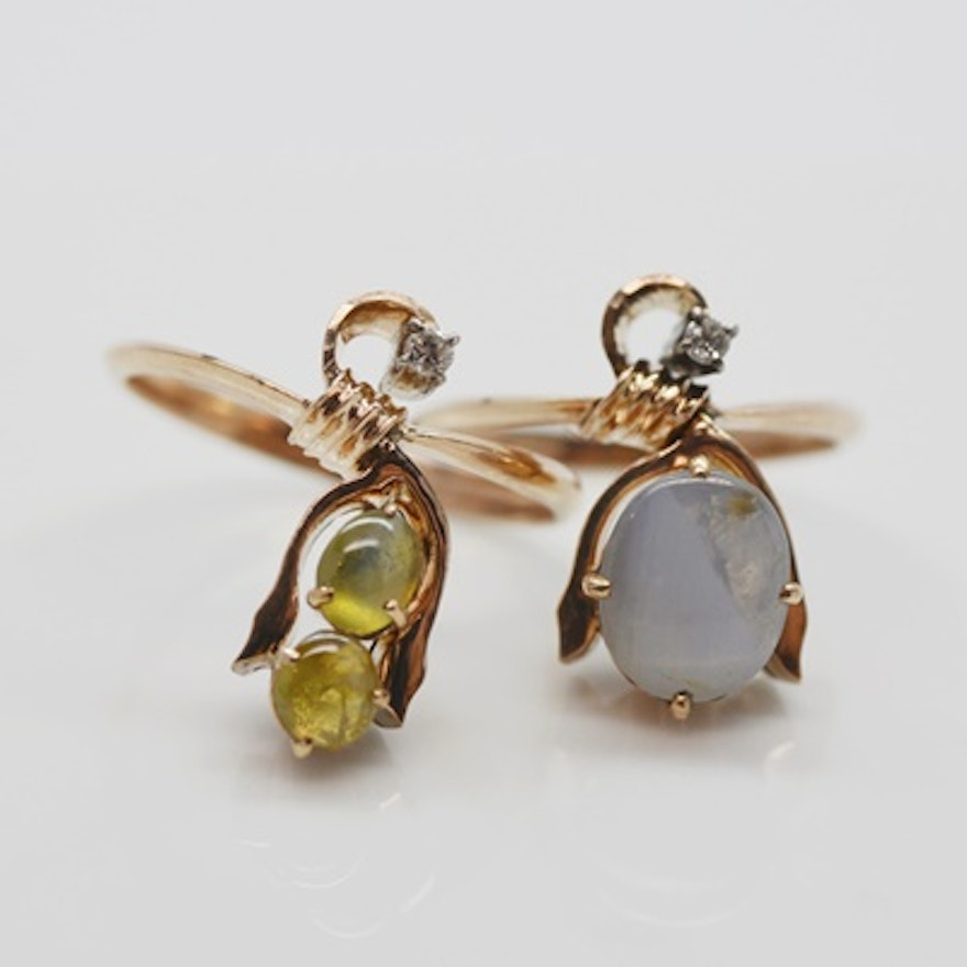 rings cut ring chrysoberyl side gold green cushion toronto view