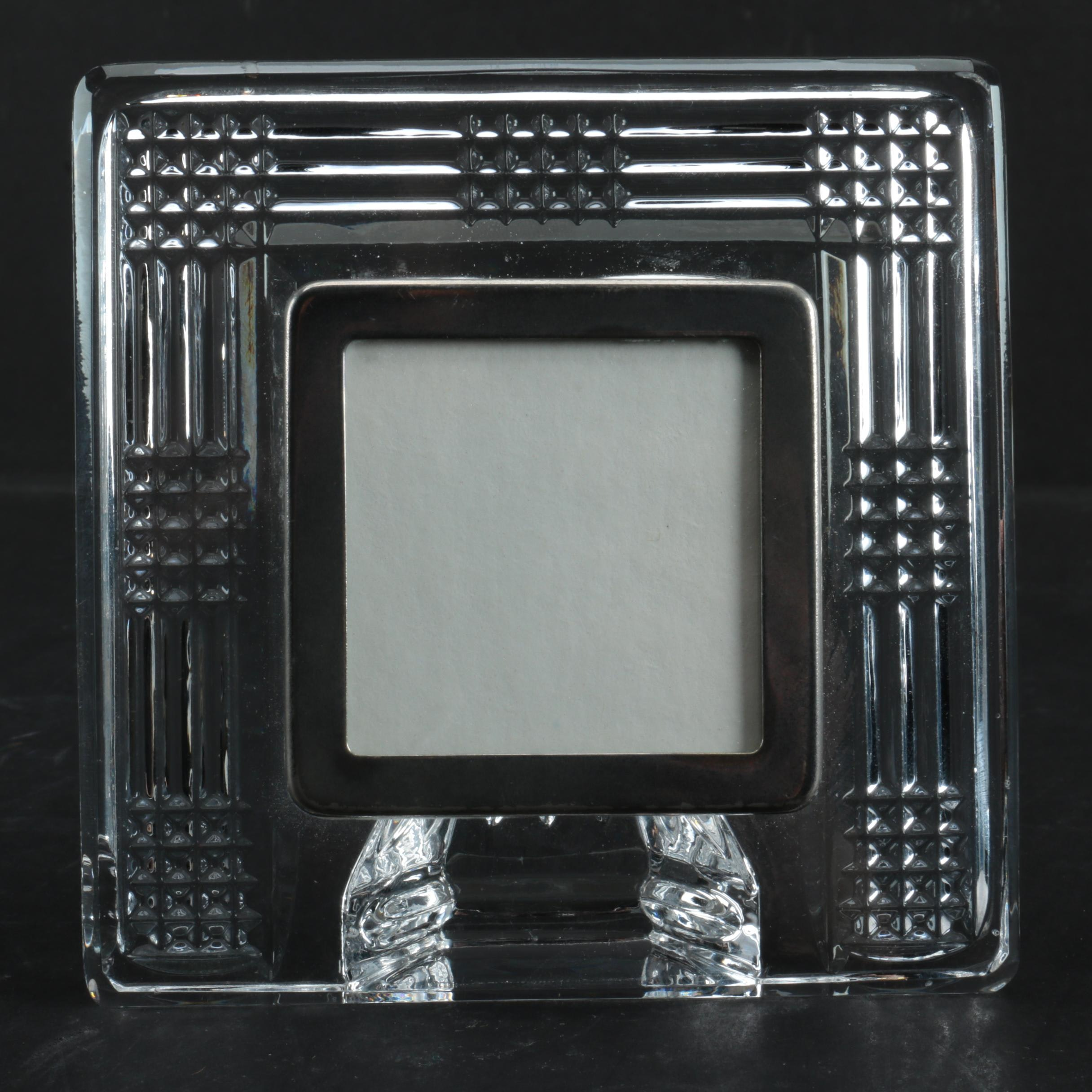 Contemporary Waterford Crystal Picture Frame