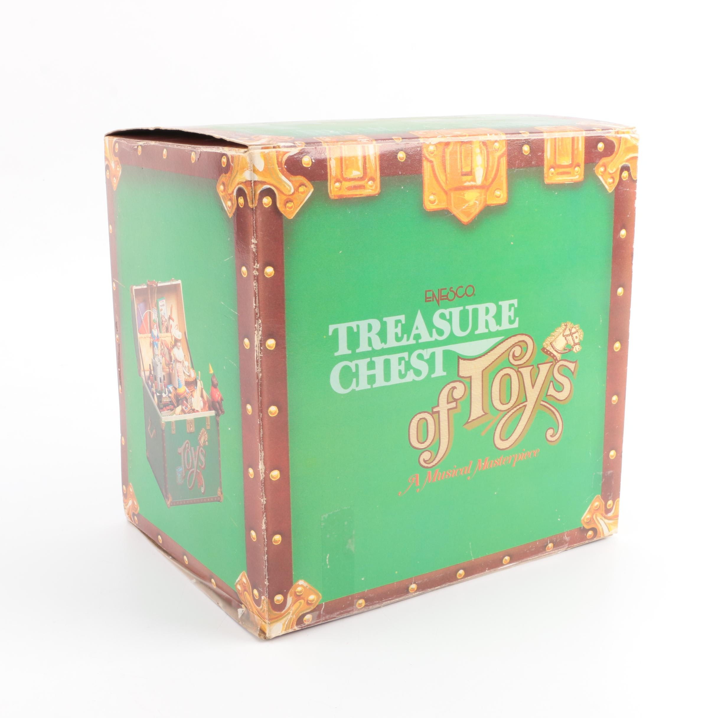 "Enesco ""Treasure Chest of Toys"" Music Box"