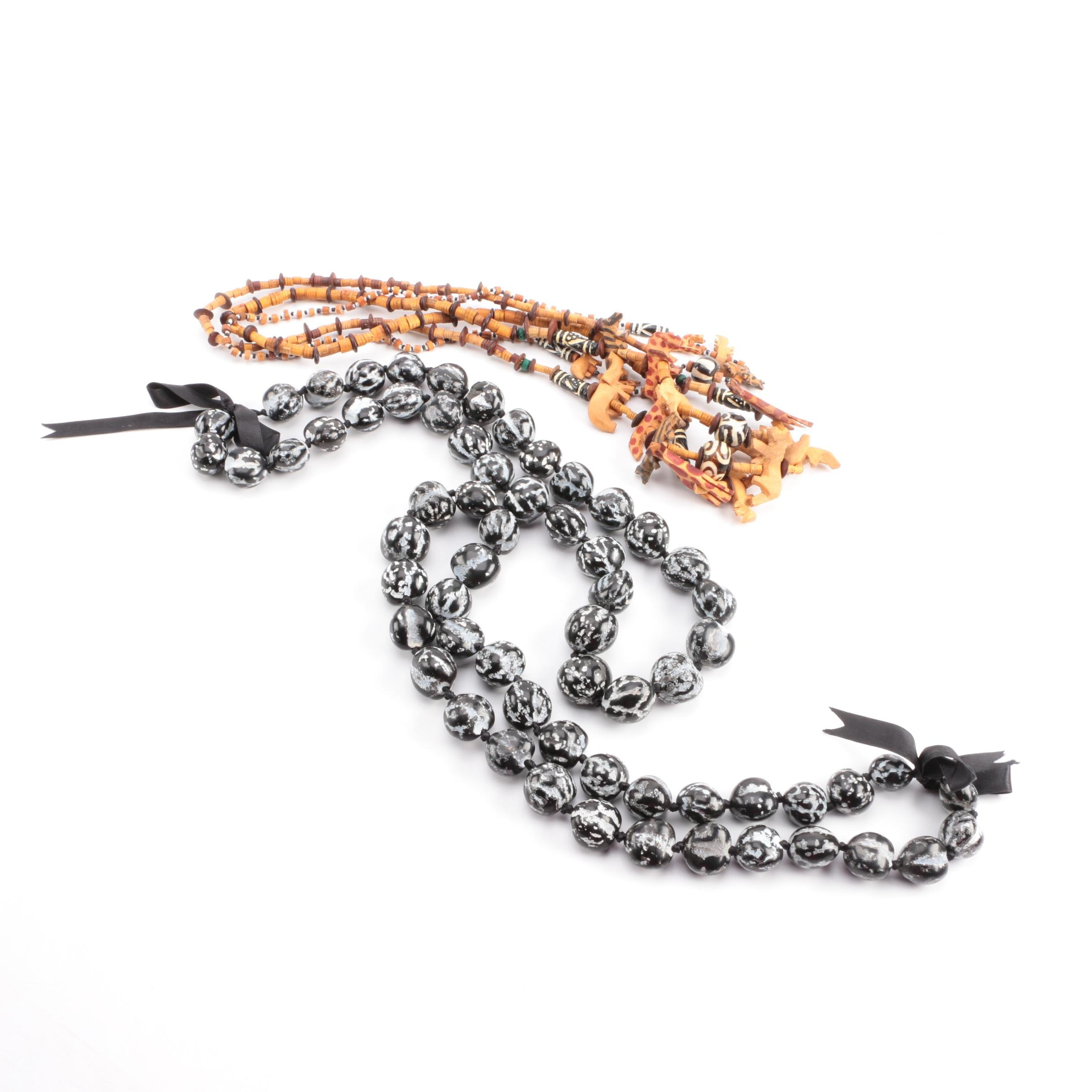 Beaded Necklaces Including Fetish Necklaces