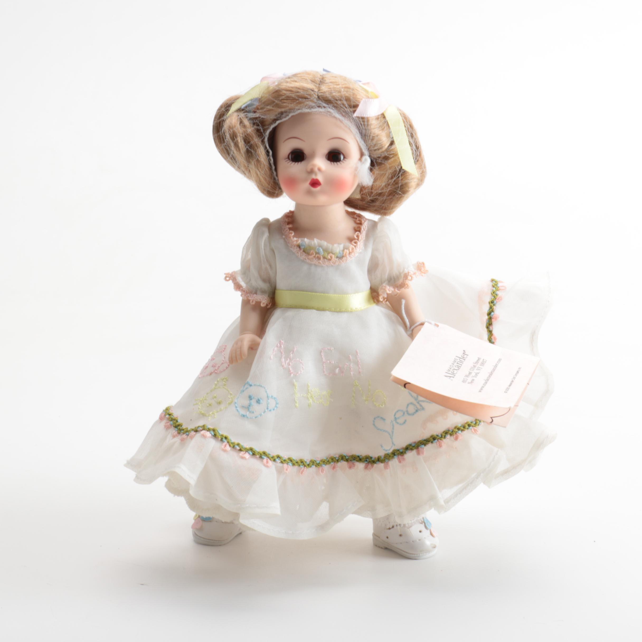 "Madame Alexander ""See No Evil, Hear No Evil, Speak No Evil"" Doll"