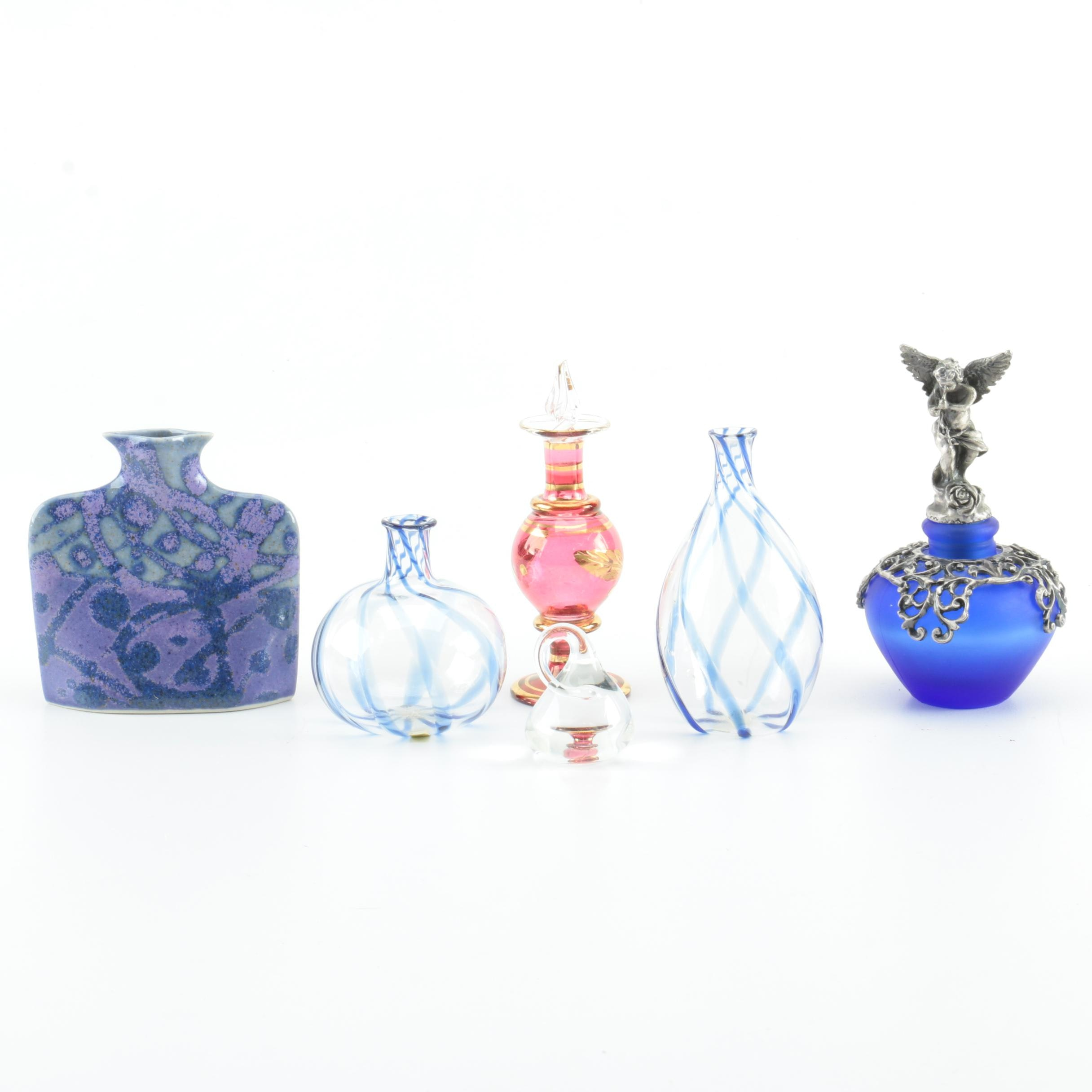 Selection of Glass Decorative Items