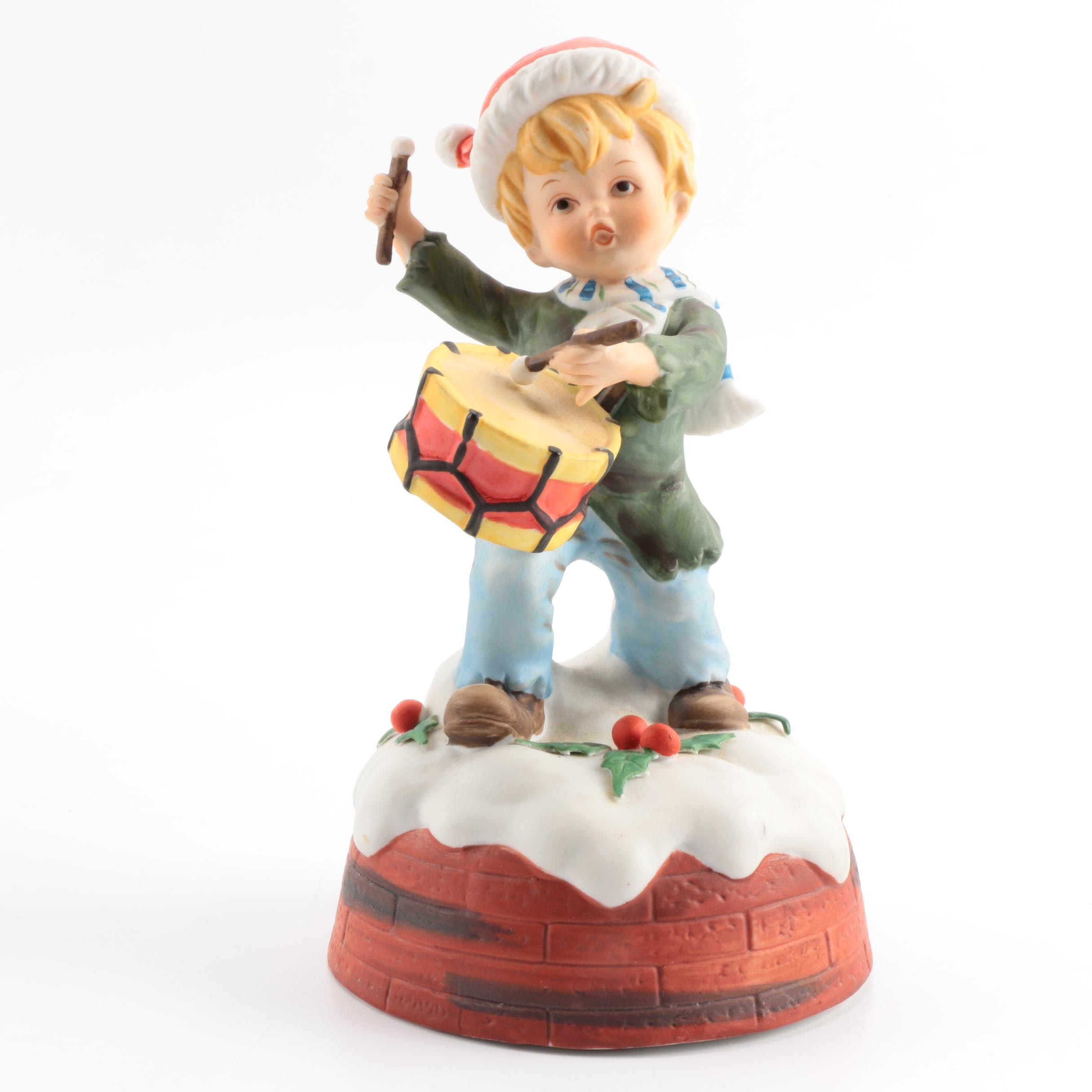 "1977 ""Little Drummer Boy"" Music Box"