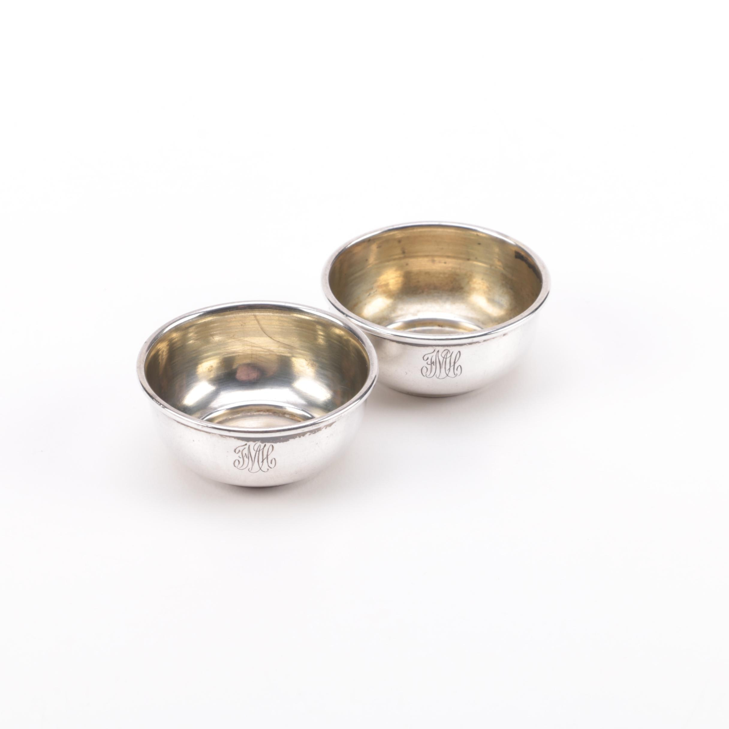 Sterling Silver Salt Cellars