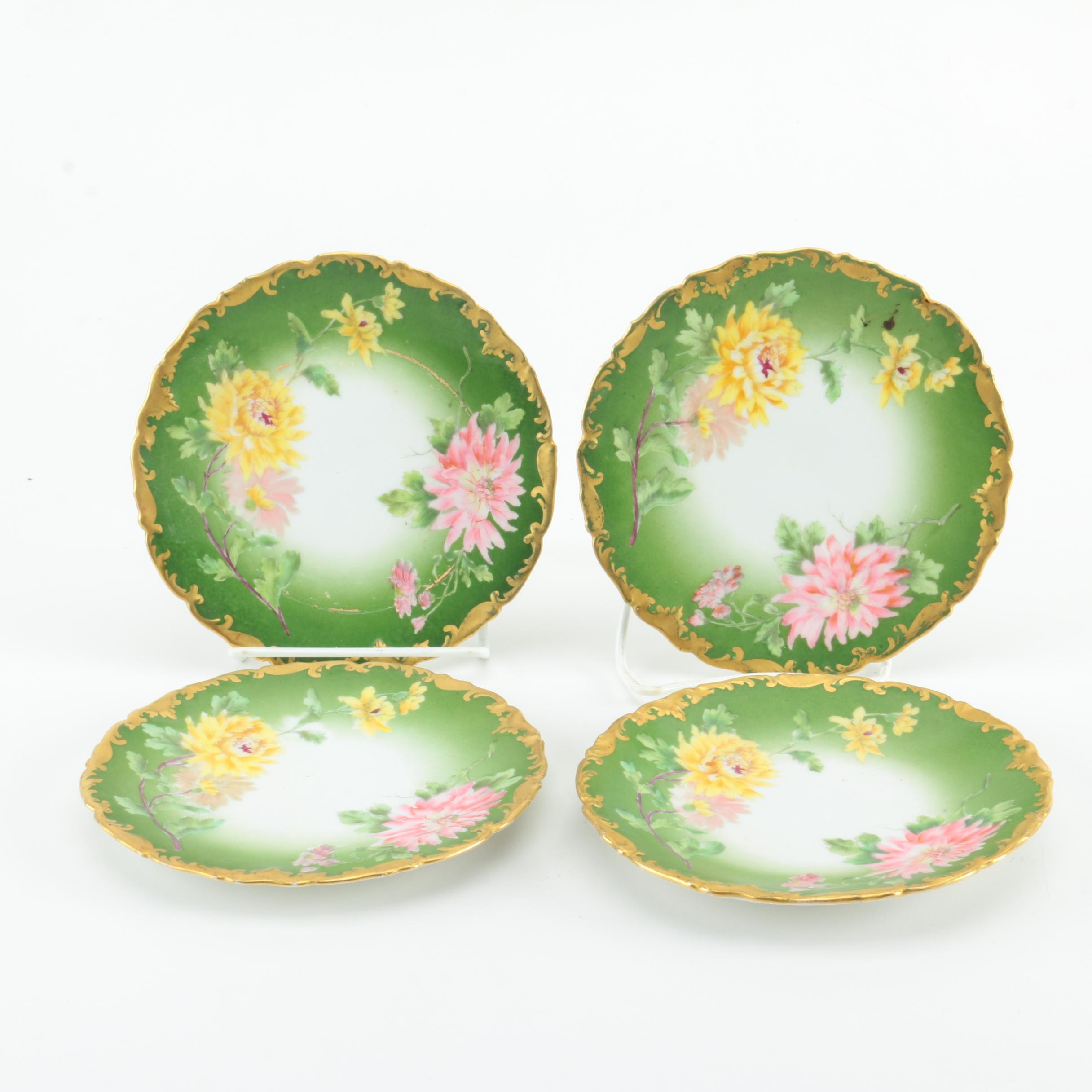 Early 20th Century Tressemann & Vogt Porcelain Plates