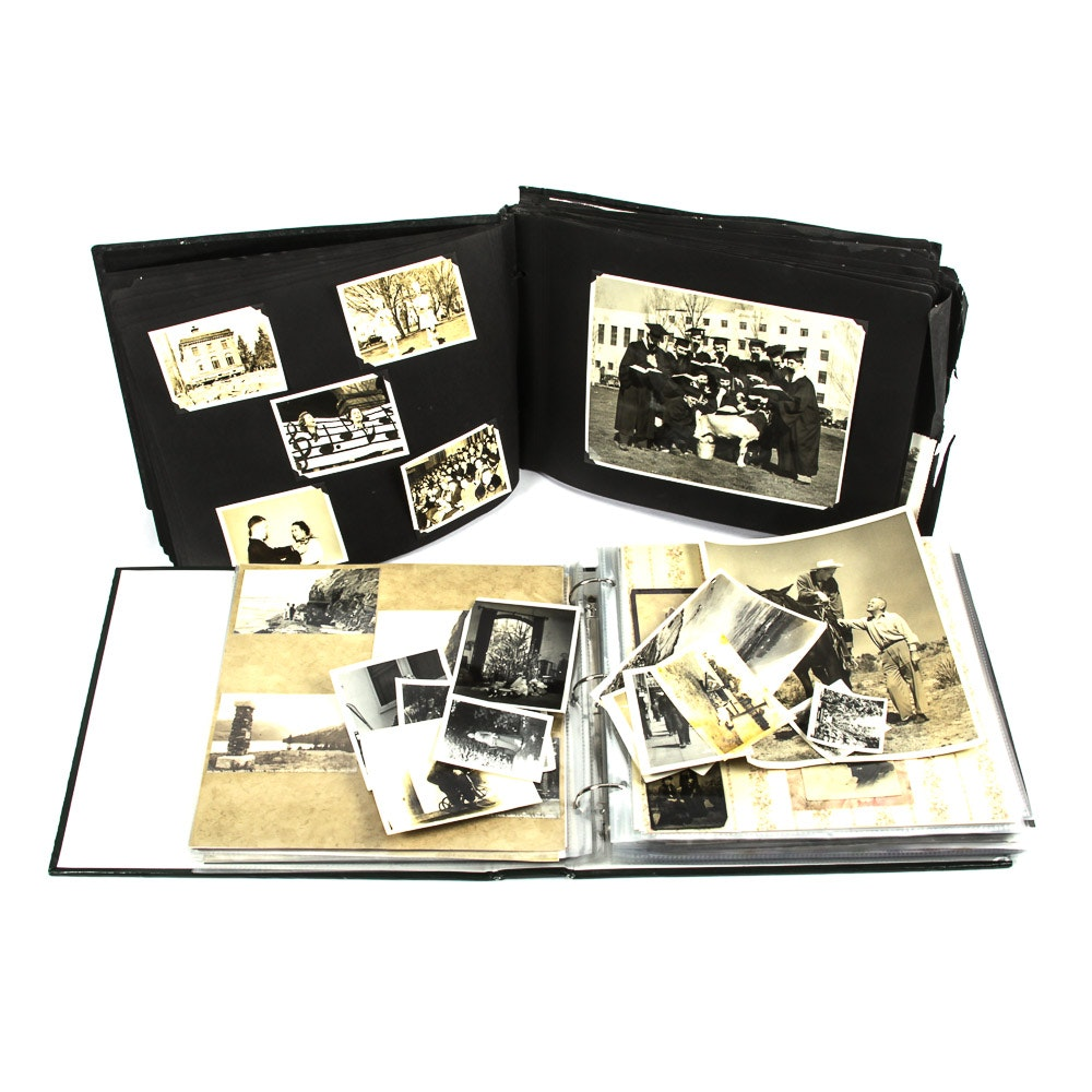 Vintage Family Photo Albums
