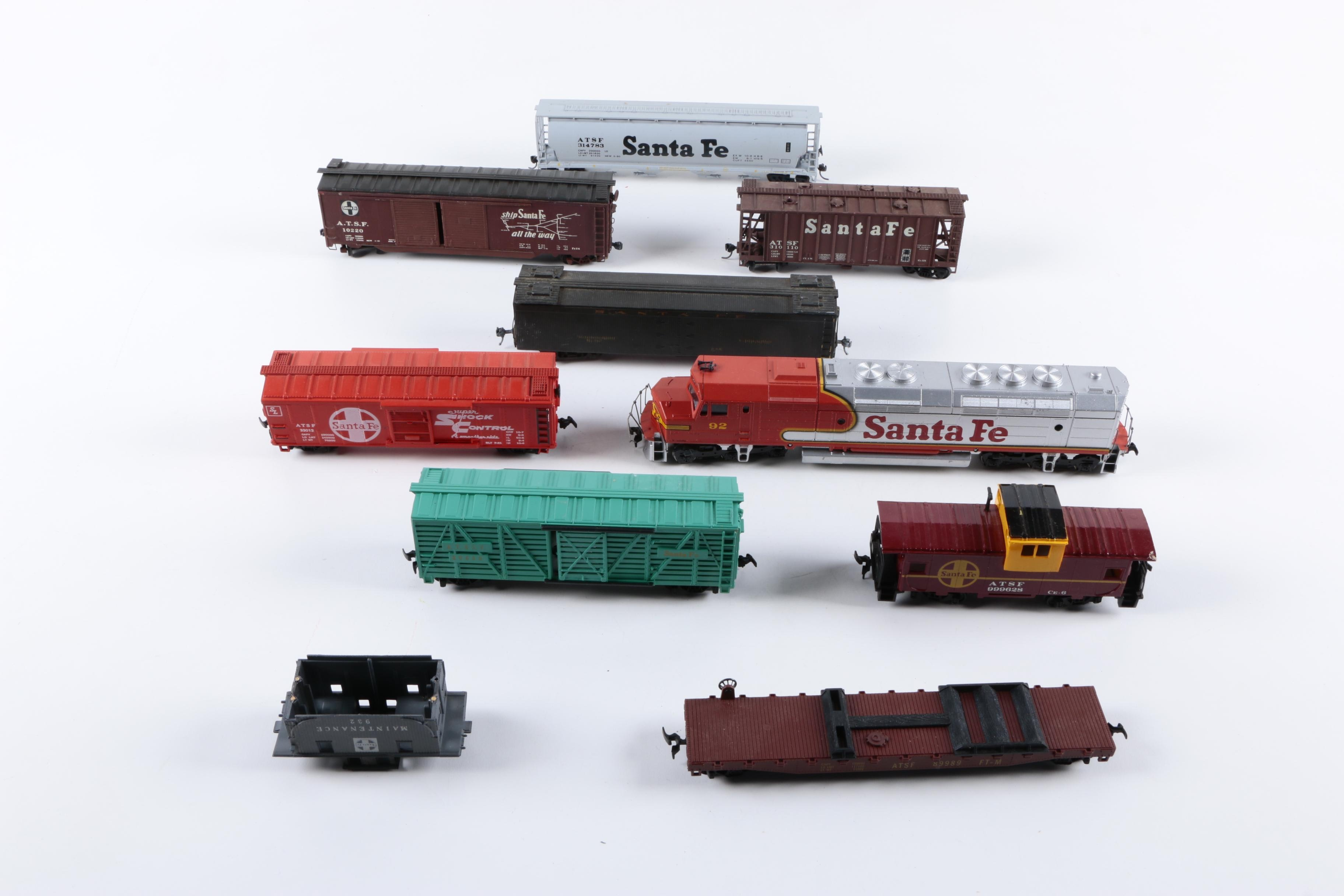 Assorted Train Cars Including Athearn
