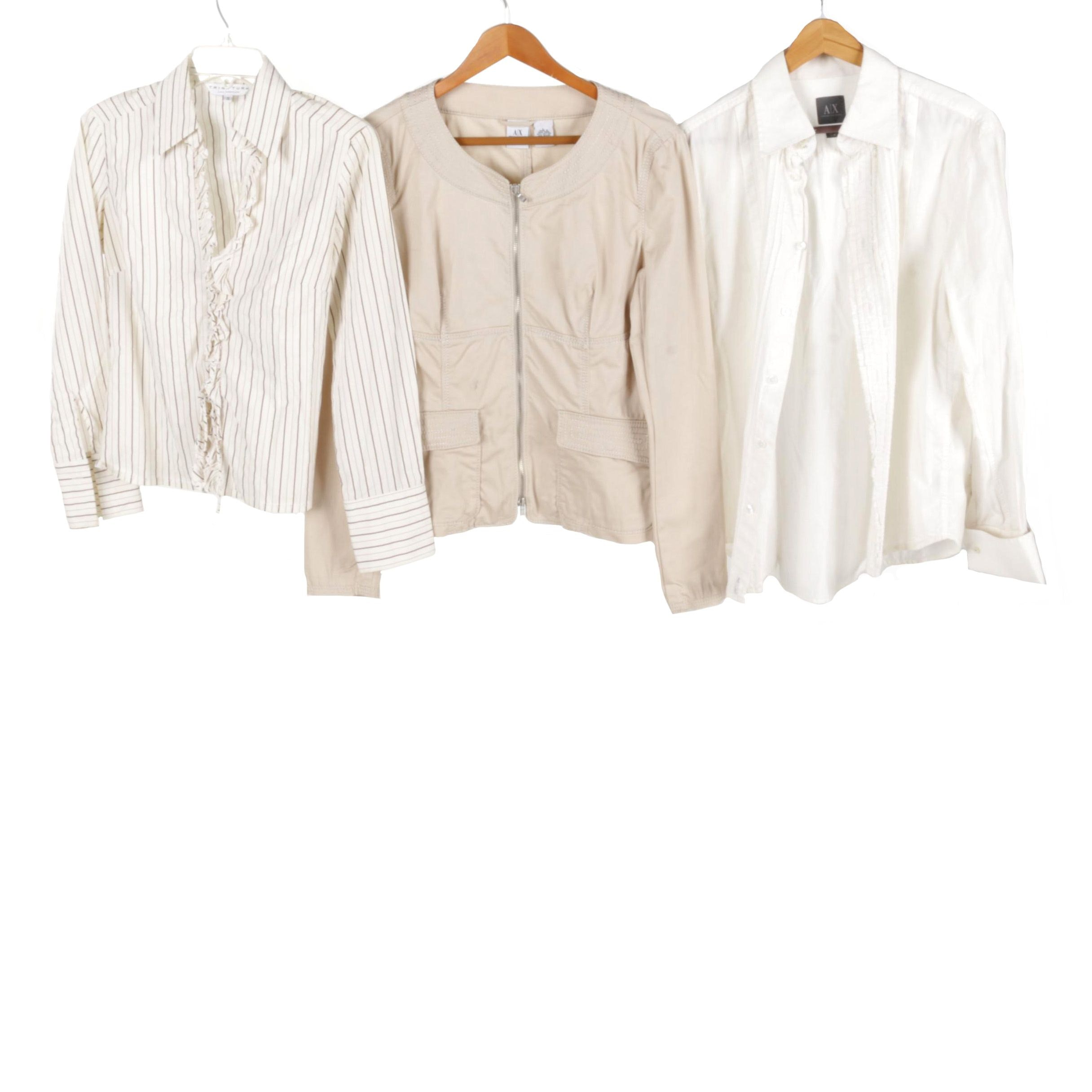 Women's Clothes Including Armani Exchange and Trina Turk