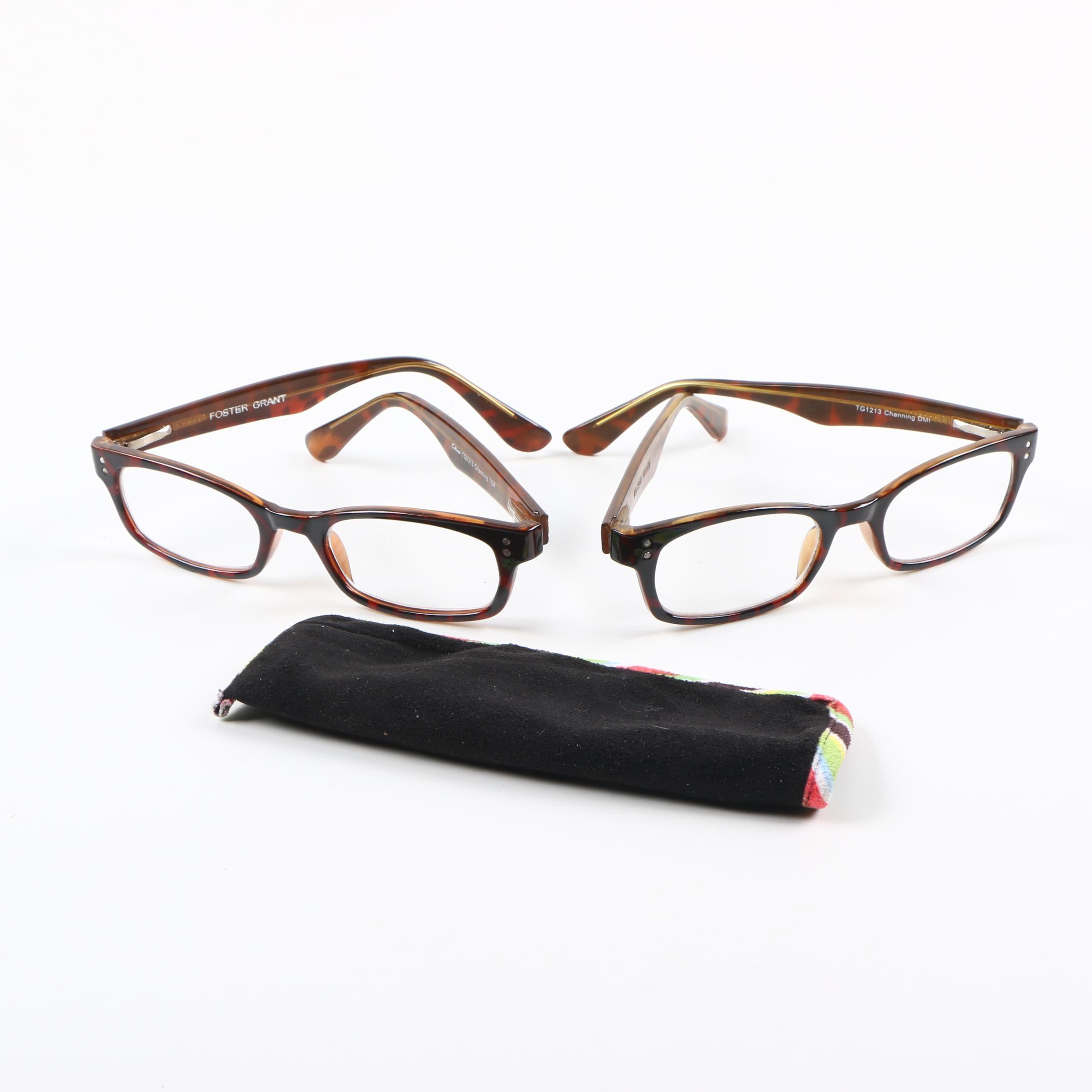 Foster Grant Tortoise Style Reading Glasses