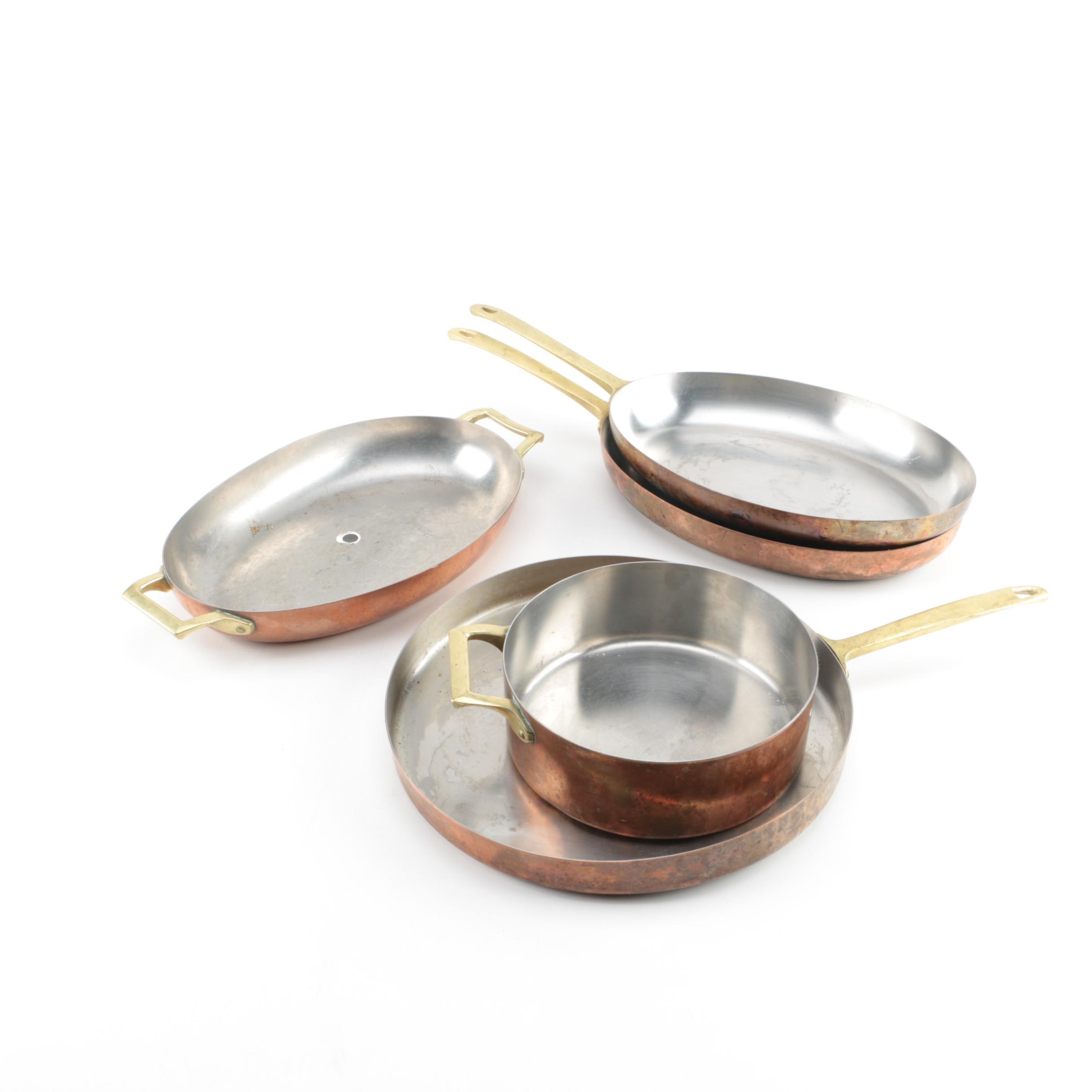 Collection of Copper Cookware