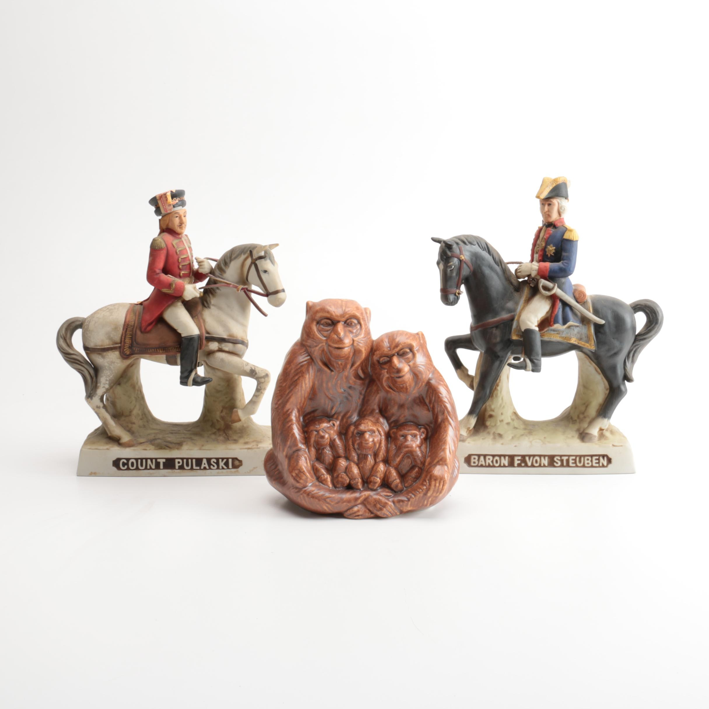 Decorative and Commemorative Decanters
