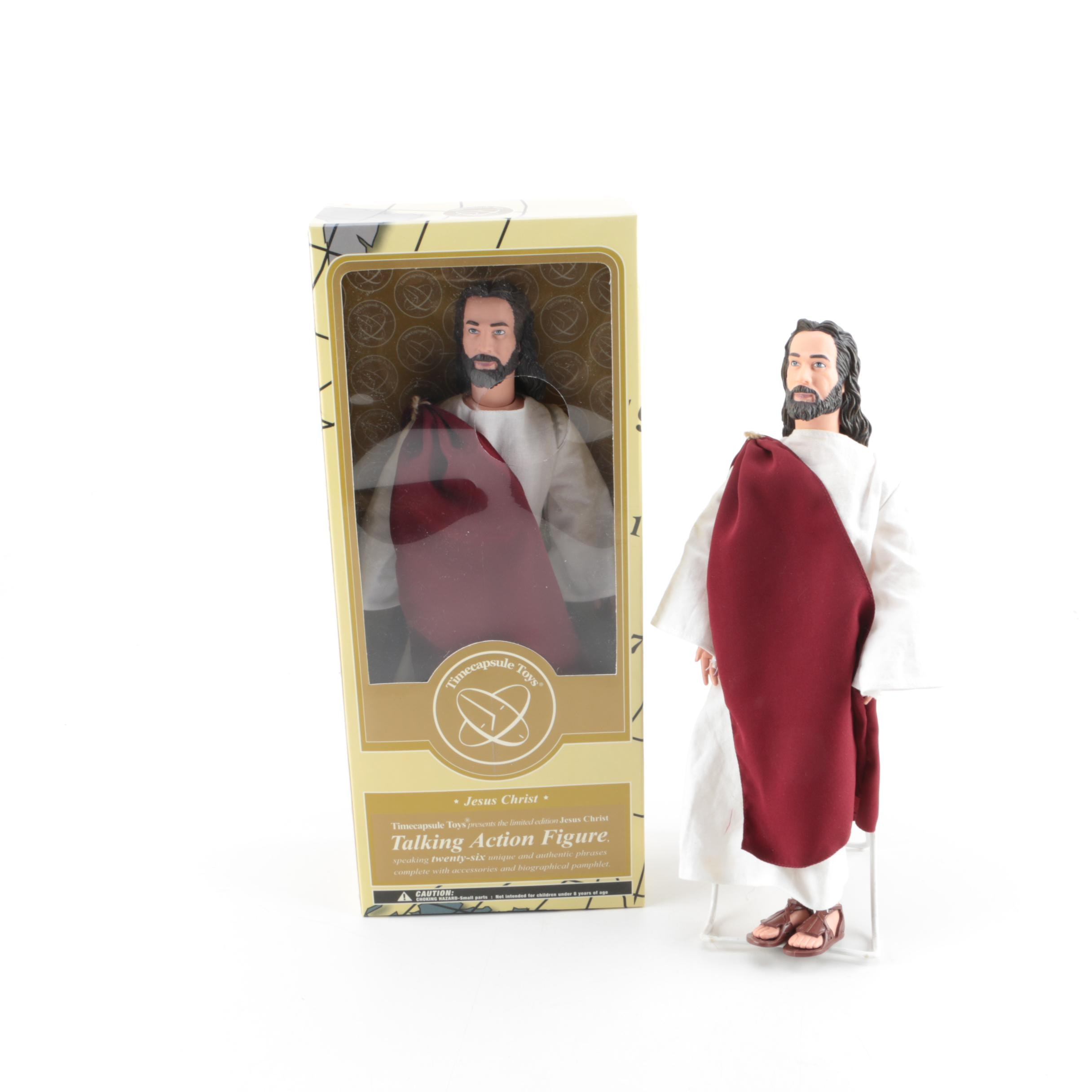 Pair of Jesus Christ Action Figures