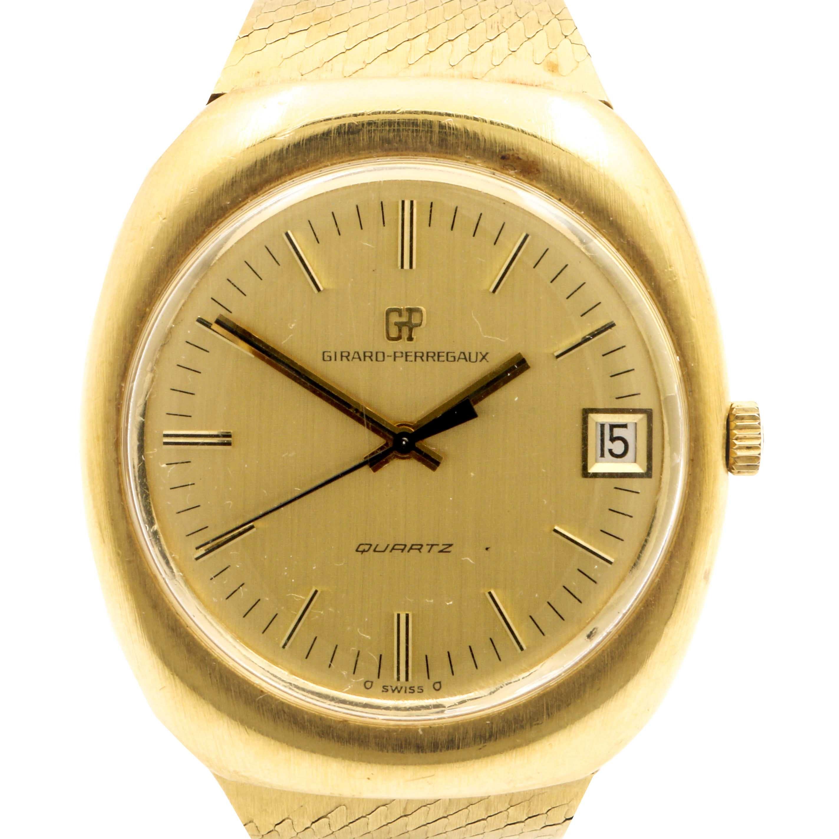 18K Yellow Gold Girard-Perregaux Wristwatch