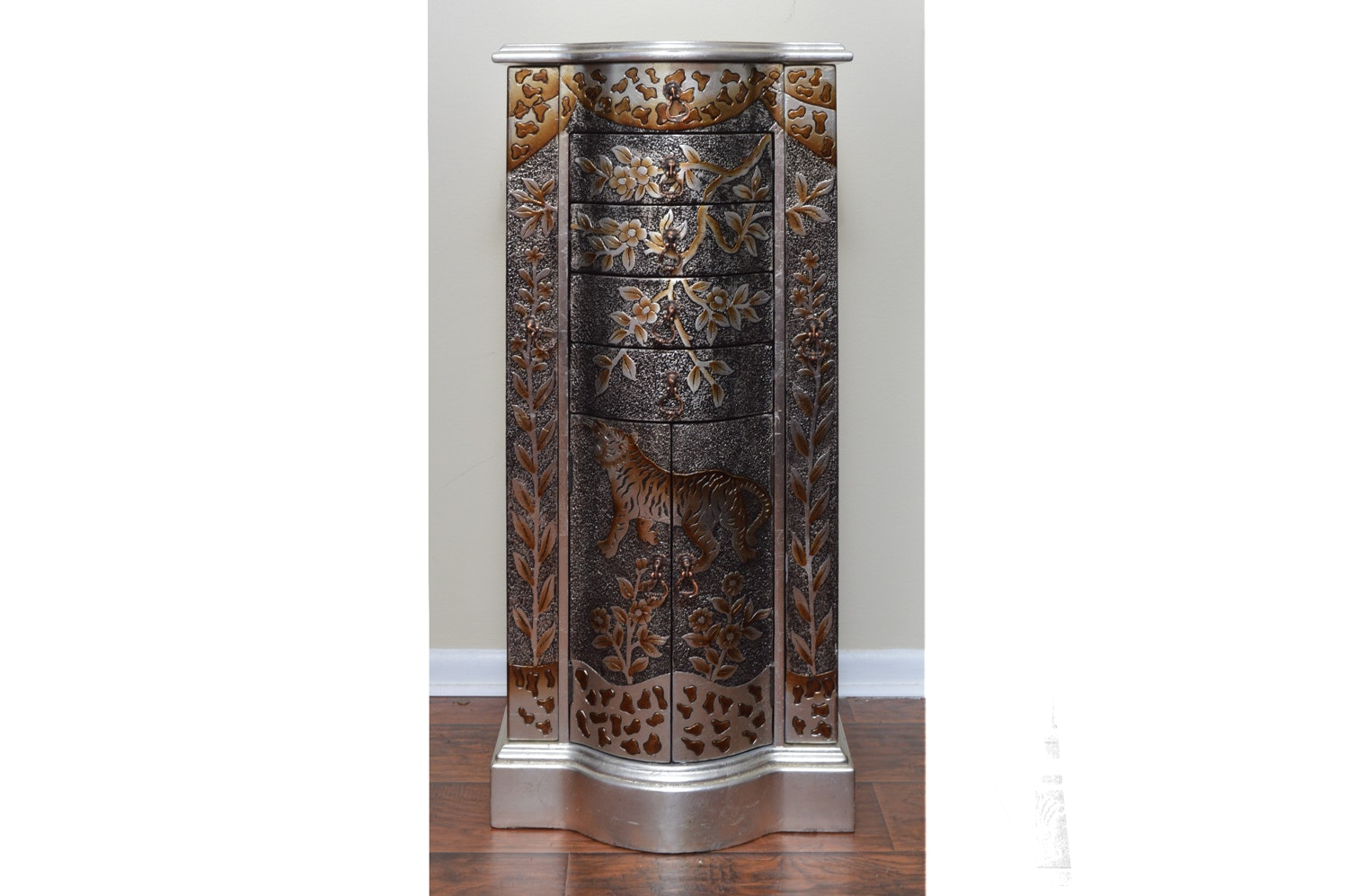 Asian Inspired Jewelry Cabinet