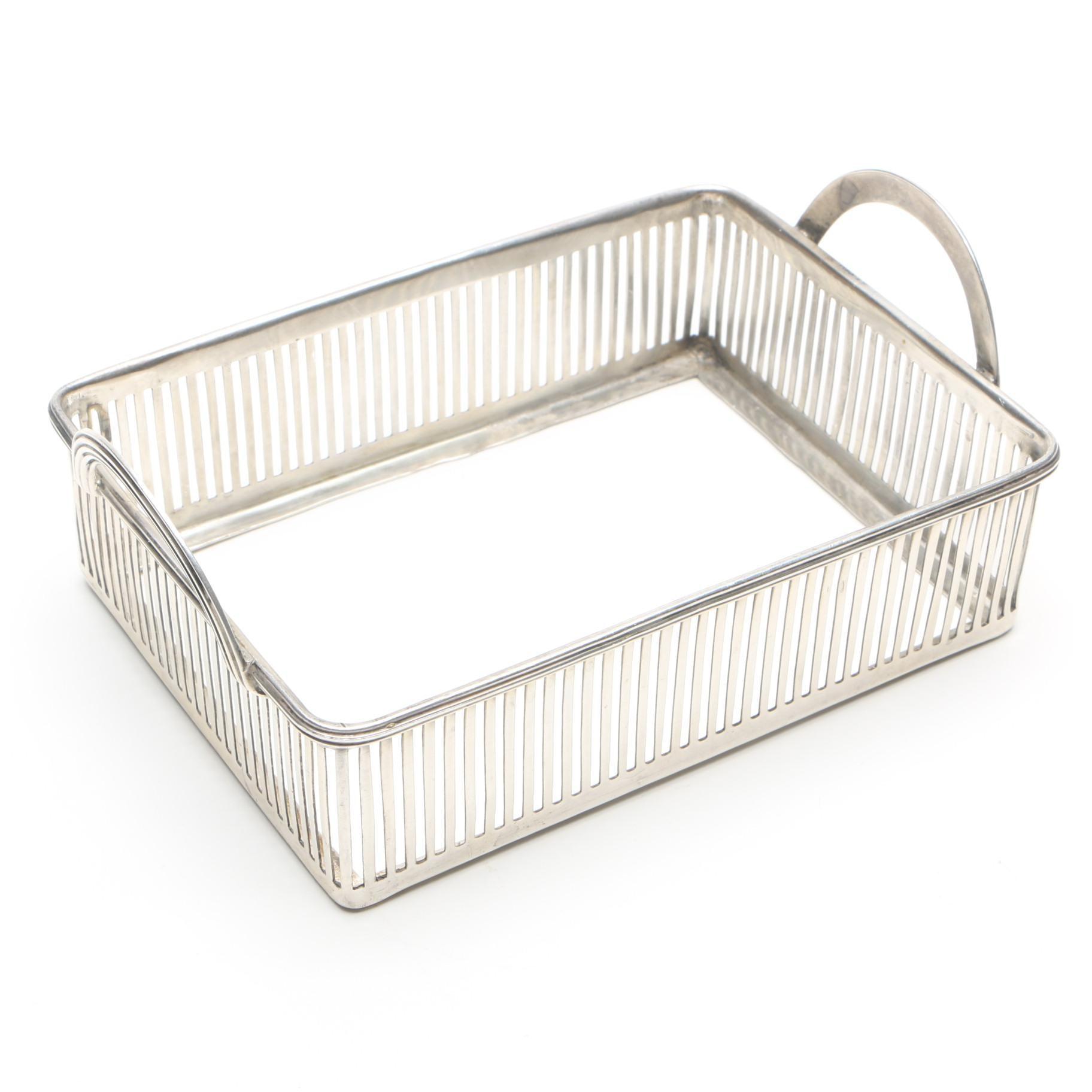 Watson Co. Sterling Silver Tray Frame