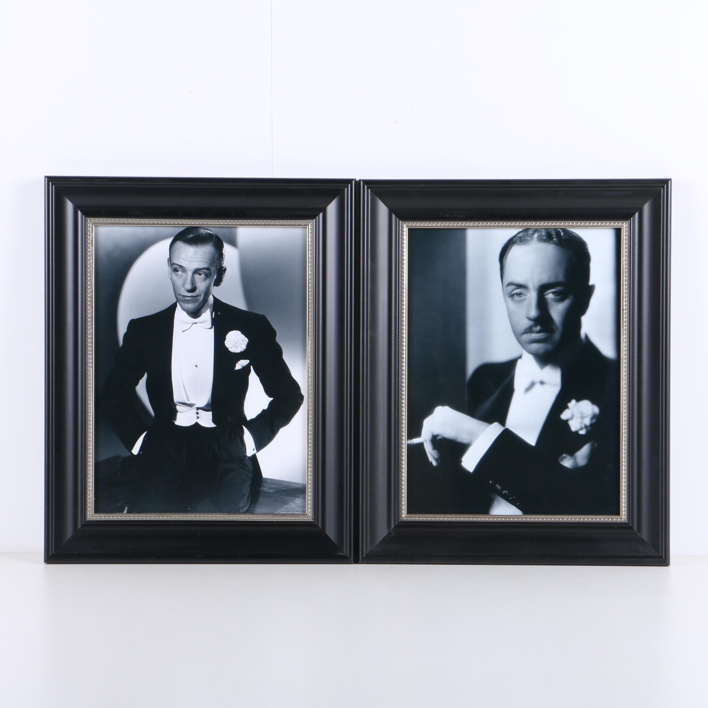 Photographs on Paper of Actors Fred Astaire and William Powell