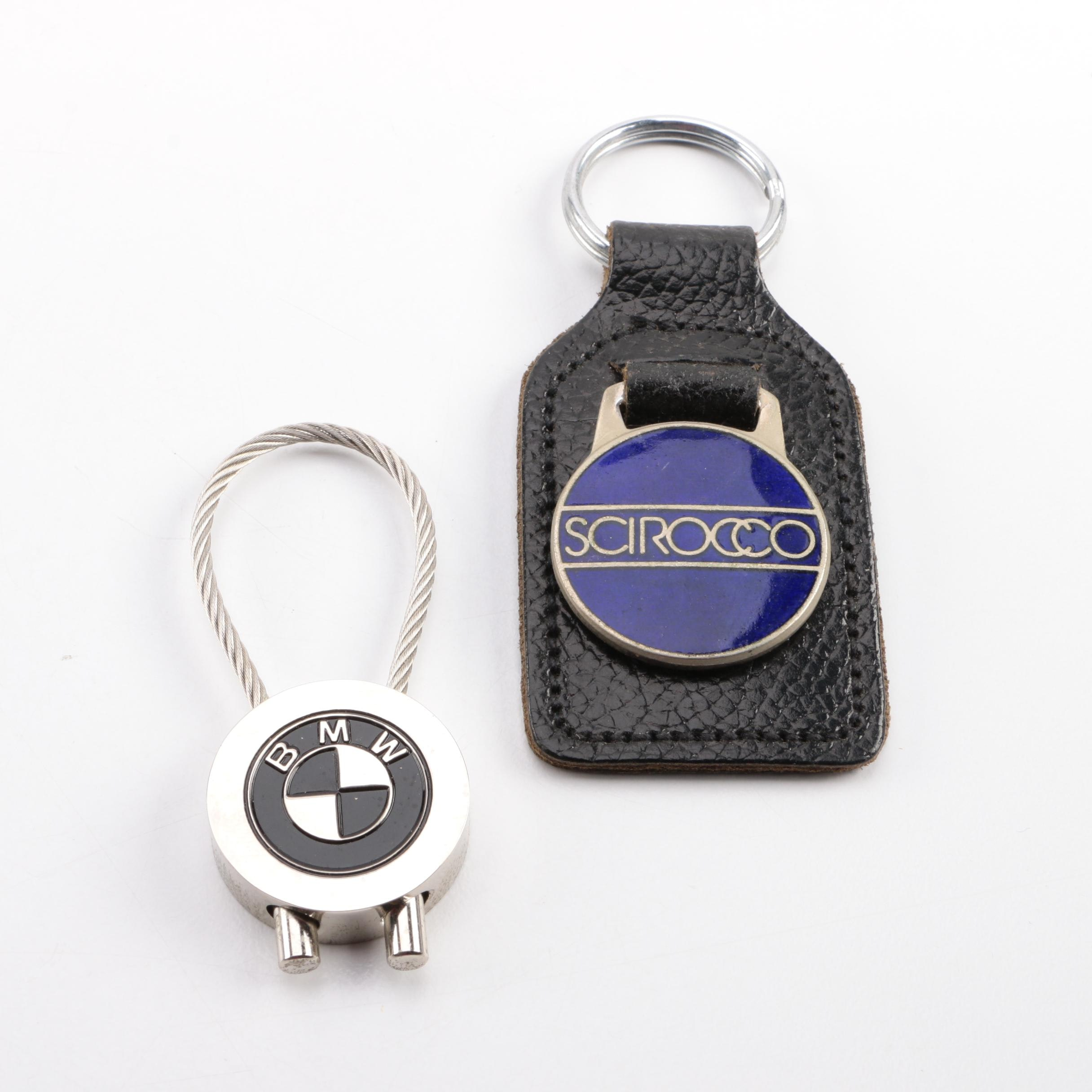 Scirocco and BMW Key Rings