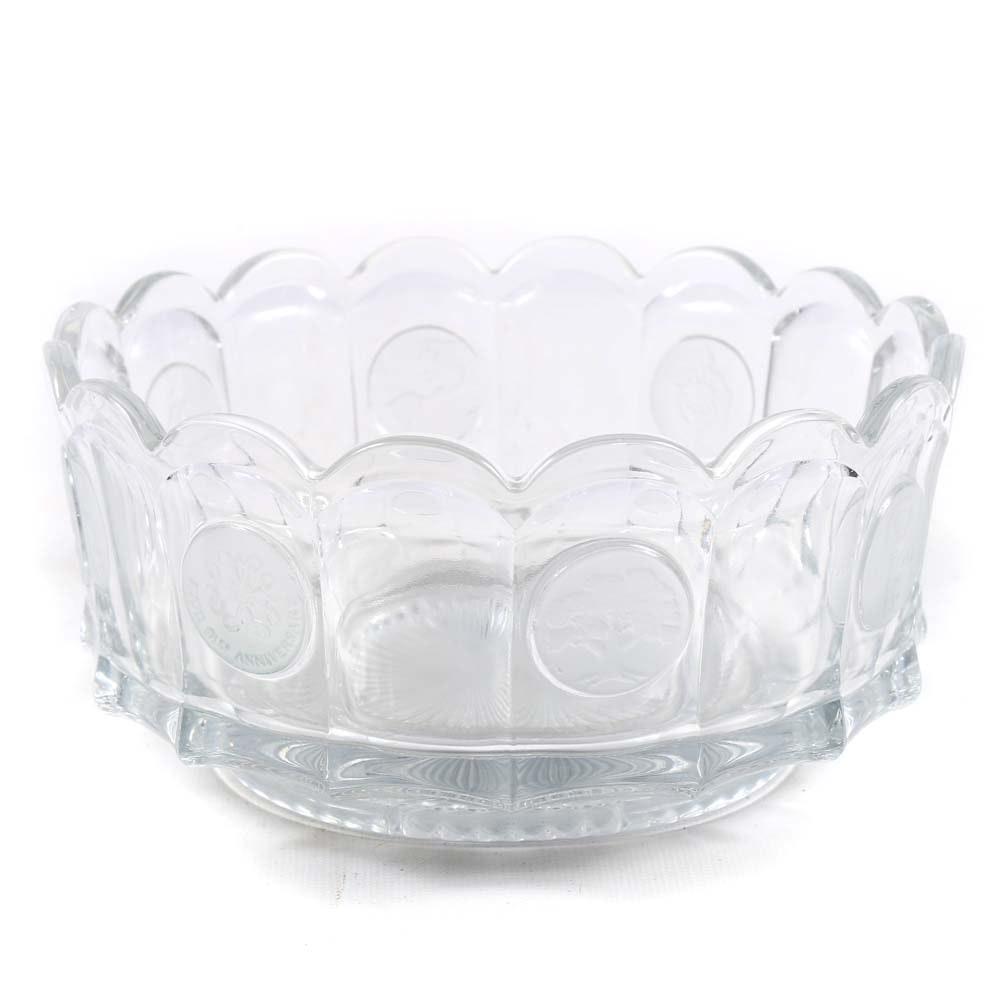Avon 91st Anniversary Glass Bowl