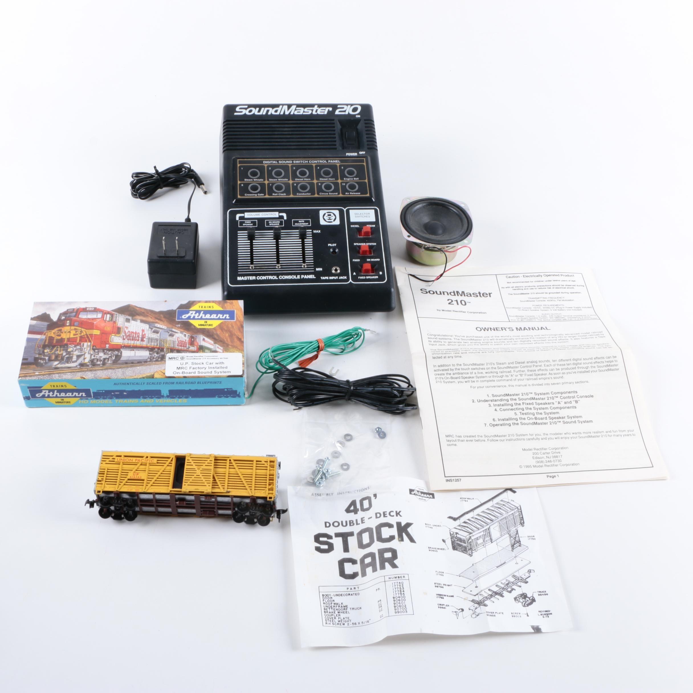 "Athearn ""Blue Box"" Model Train and SoundMaster 210"