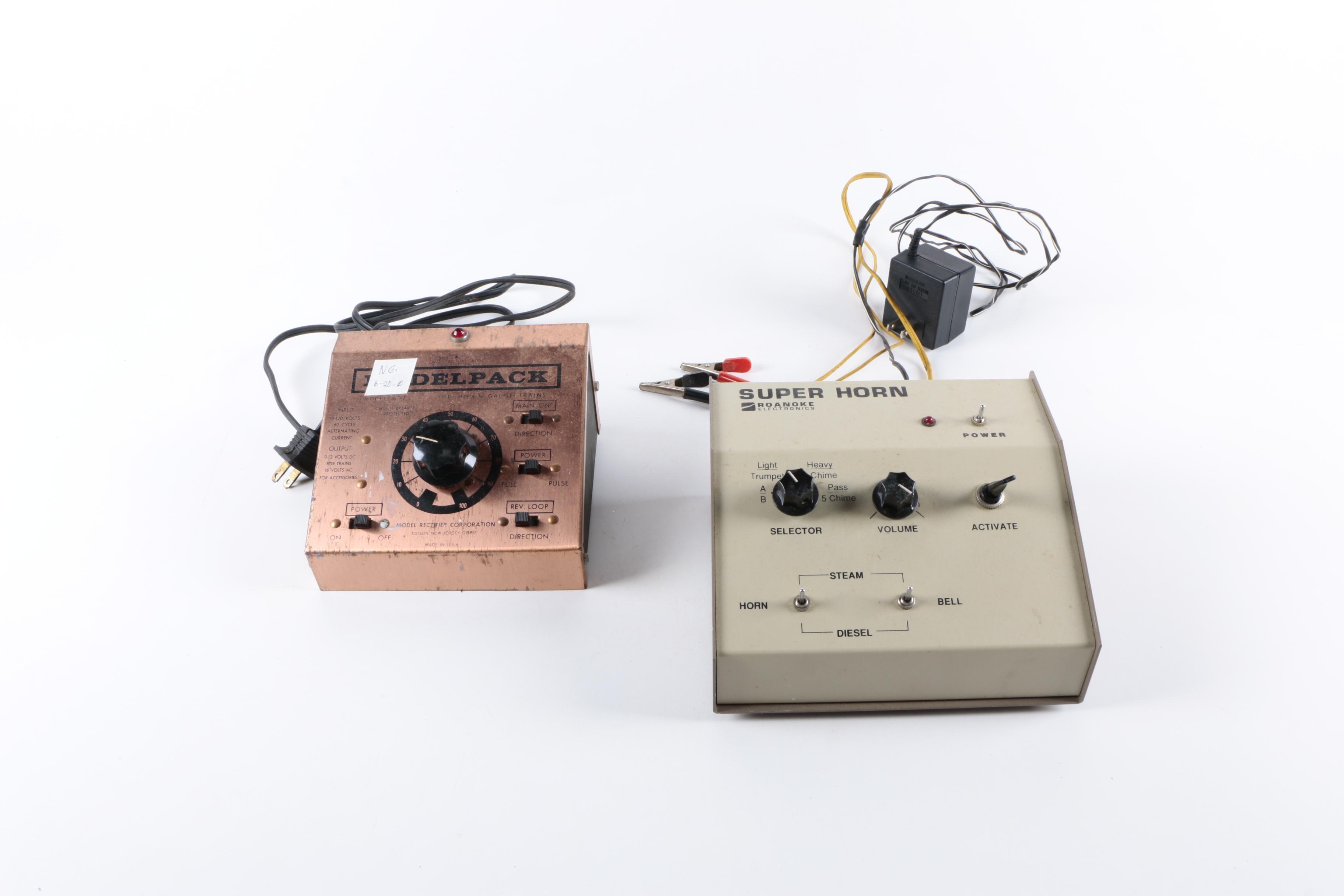 "MRC Power Pack Controller and Roanoke ""Super Horn"""