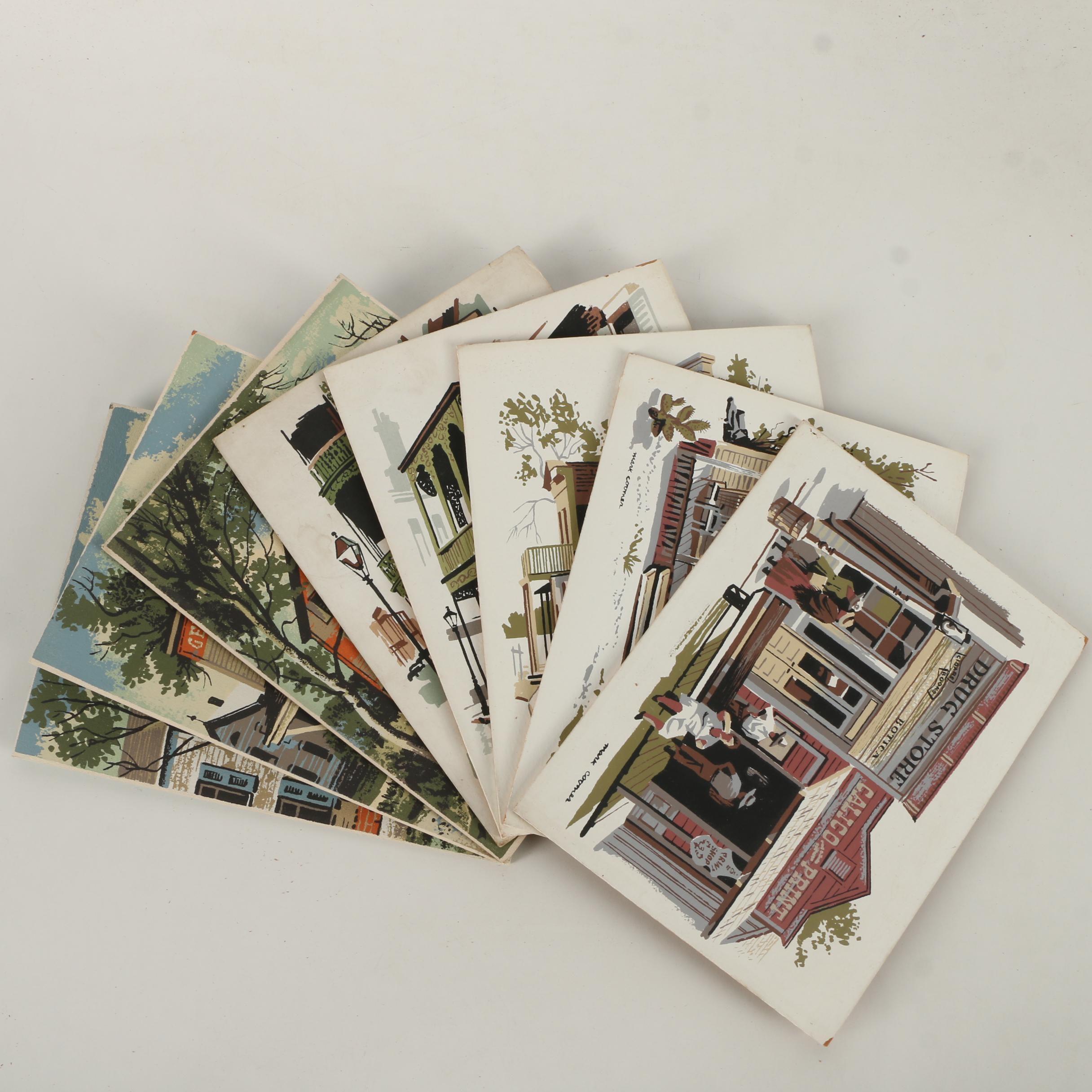 Mark Coomer Serigraphs of Western American Scenes