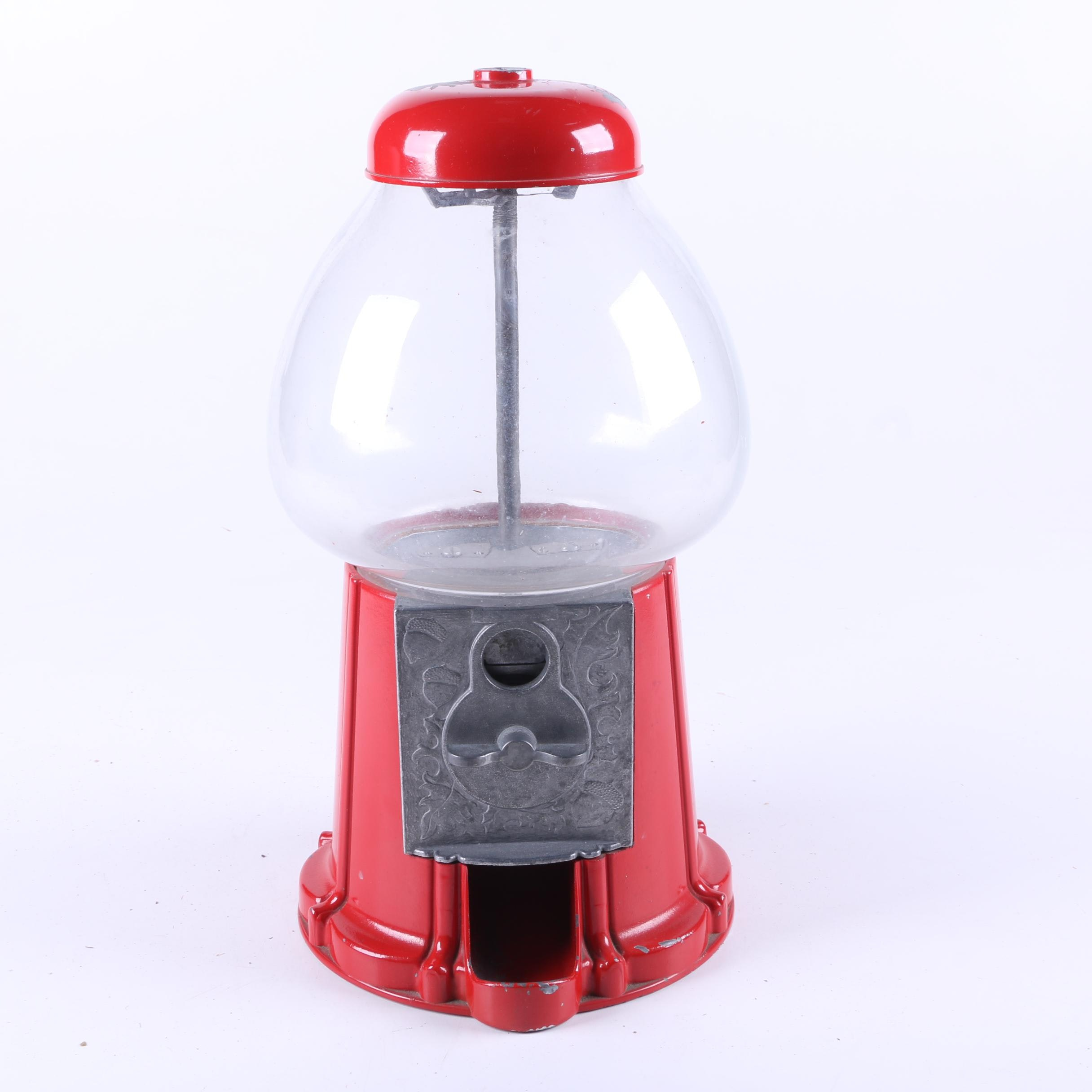 Metal Gumball Machine