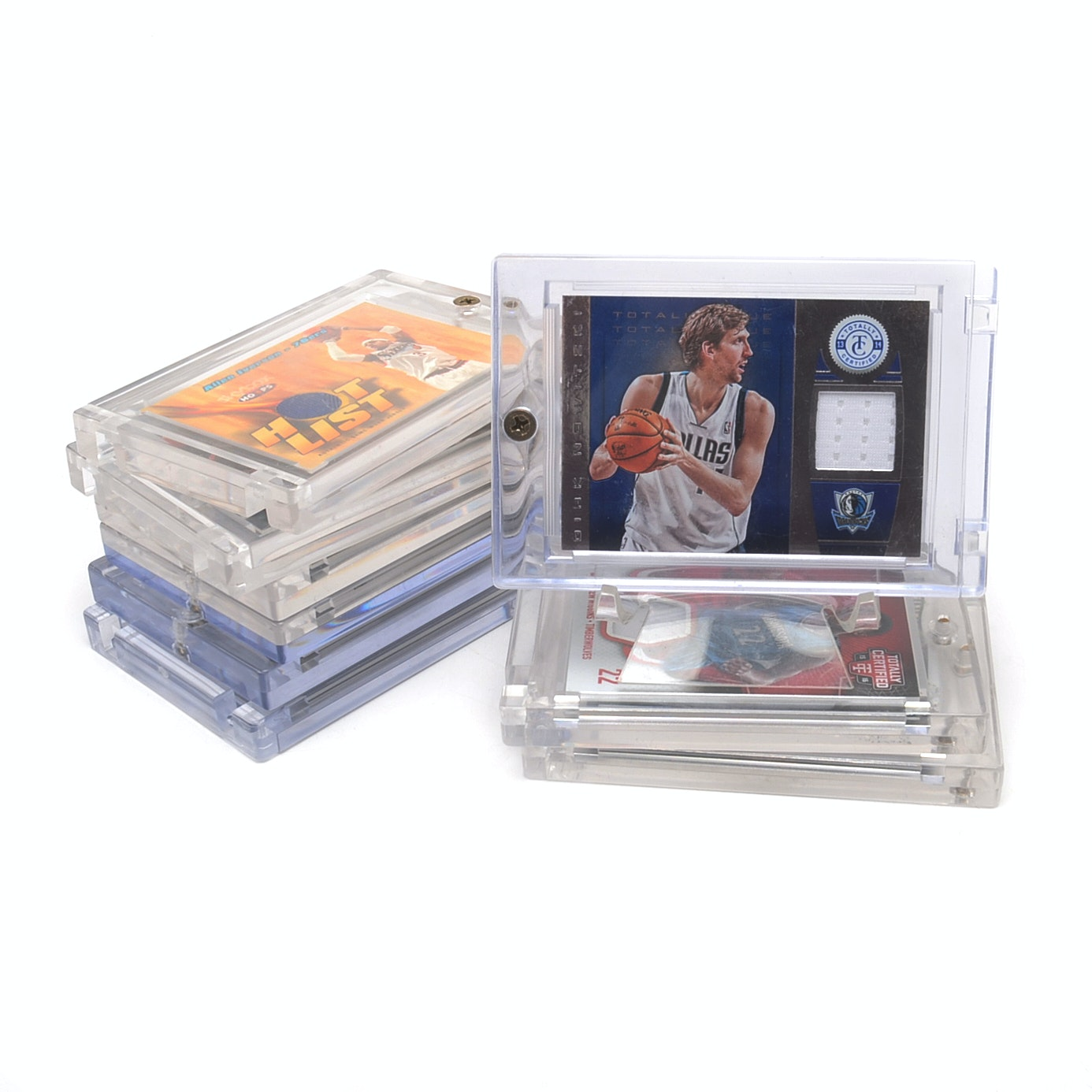 Basketball Jersey Cards, Duncan, Gervin, Pippin and More