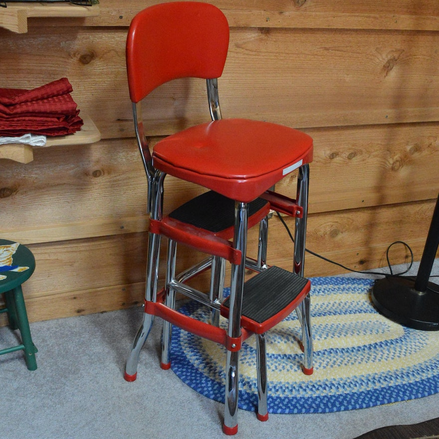 Super Vintage Cosco Convertible Step Stool Machost Co Dining Chair Design Ideas Machostcouk