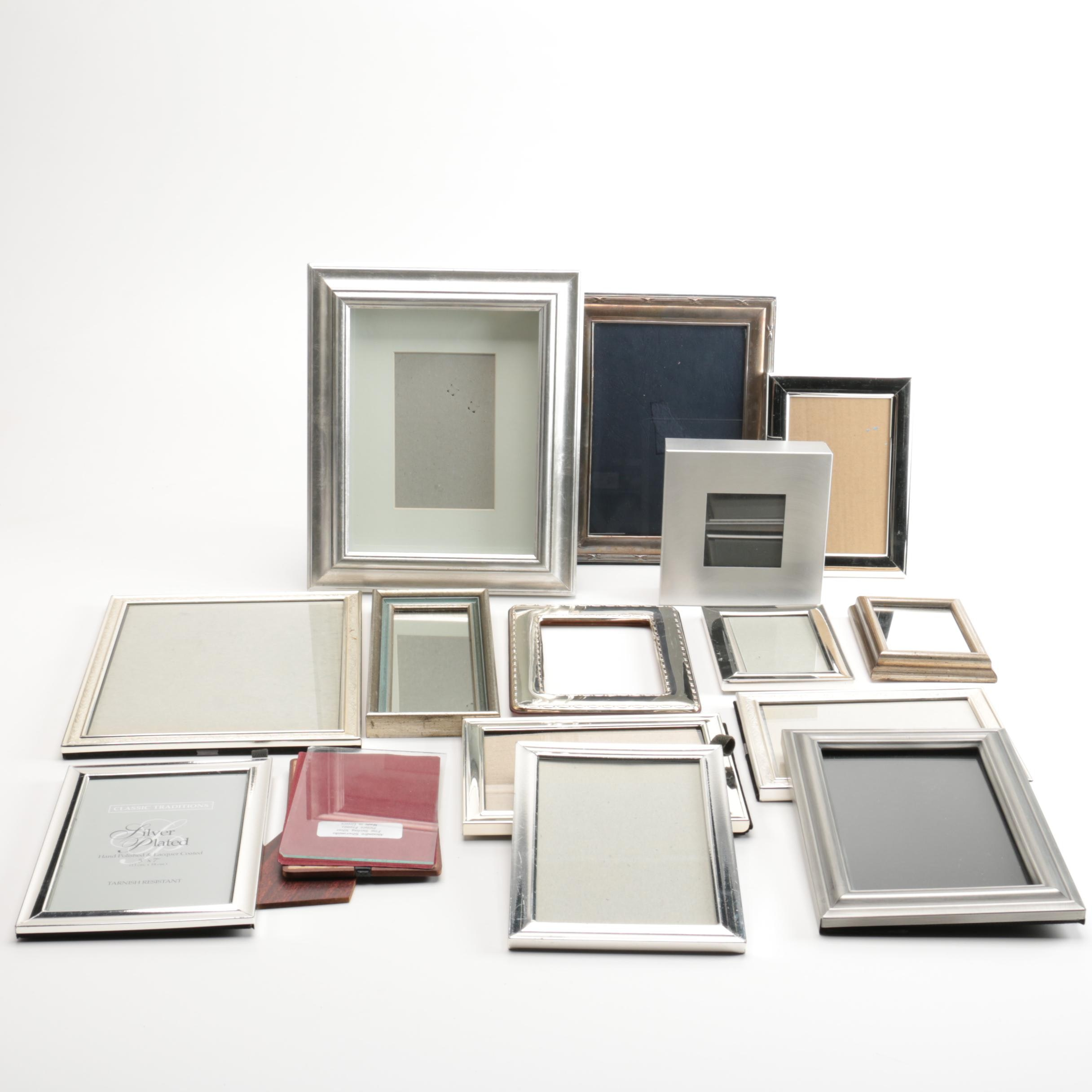 Silver Tone Photo Frames with Other Frames