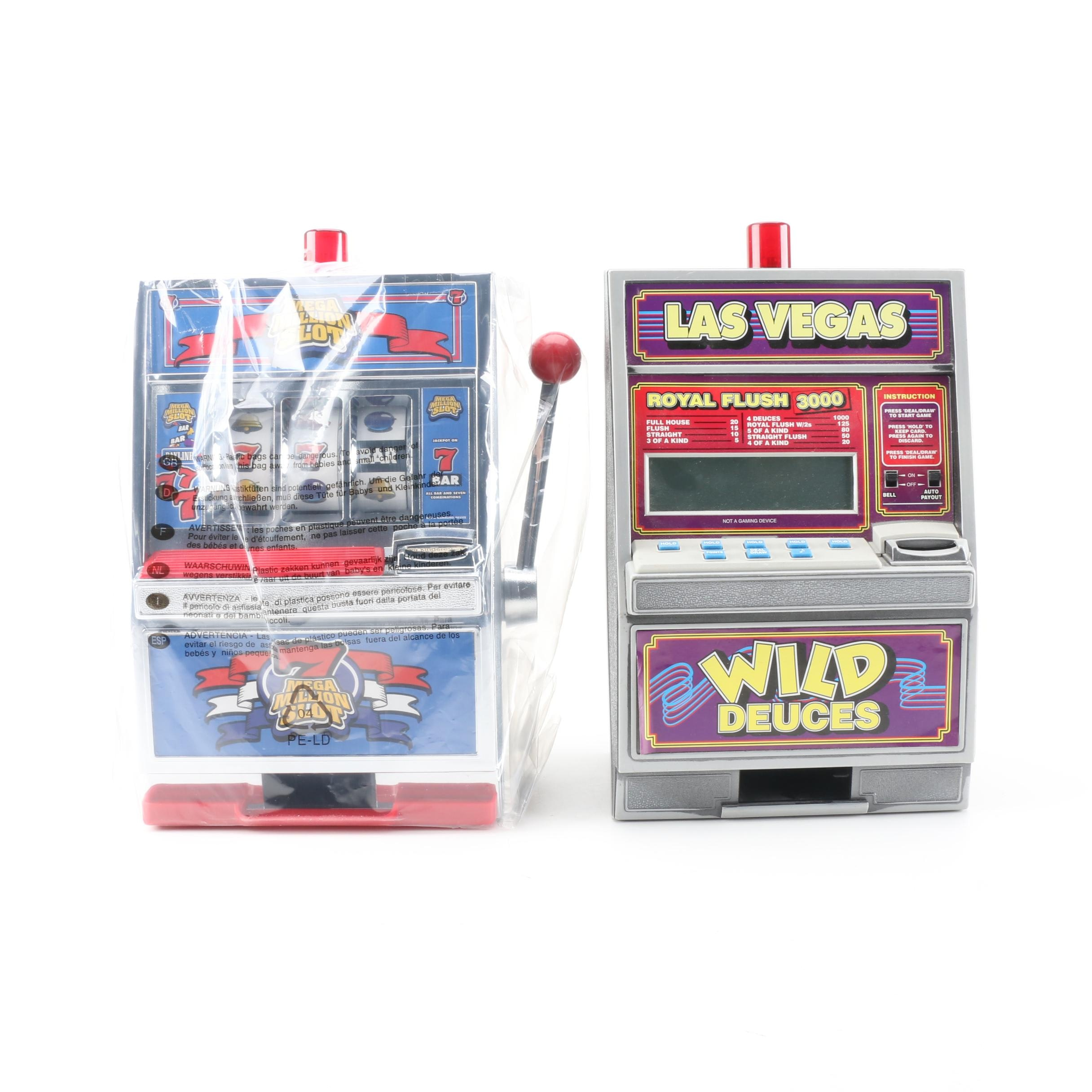 Slot Machine Toy and Toy Bank