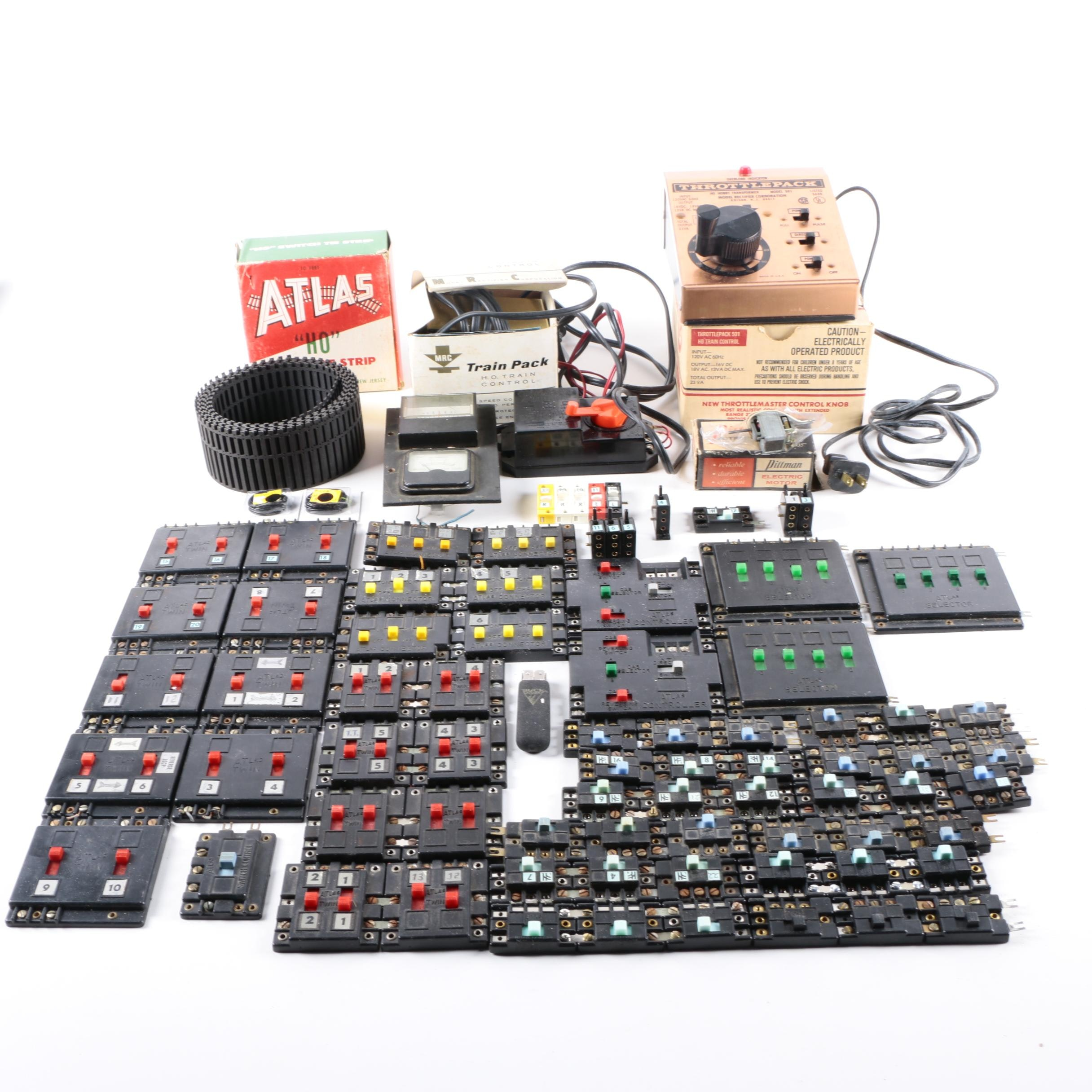Collection of Power Accessories for Trains