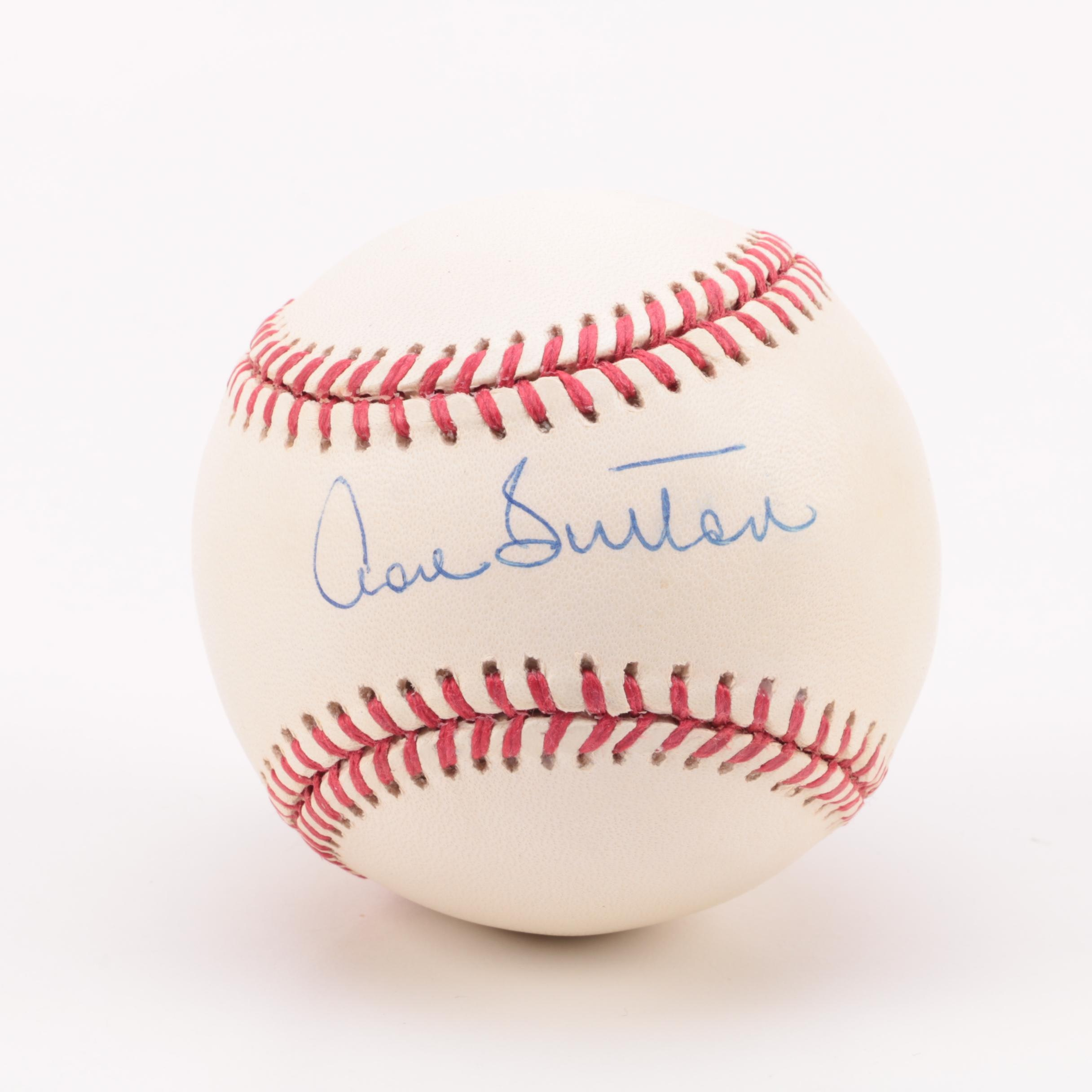 Autographed Don Sutton Baseball