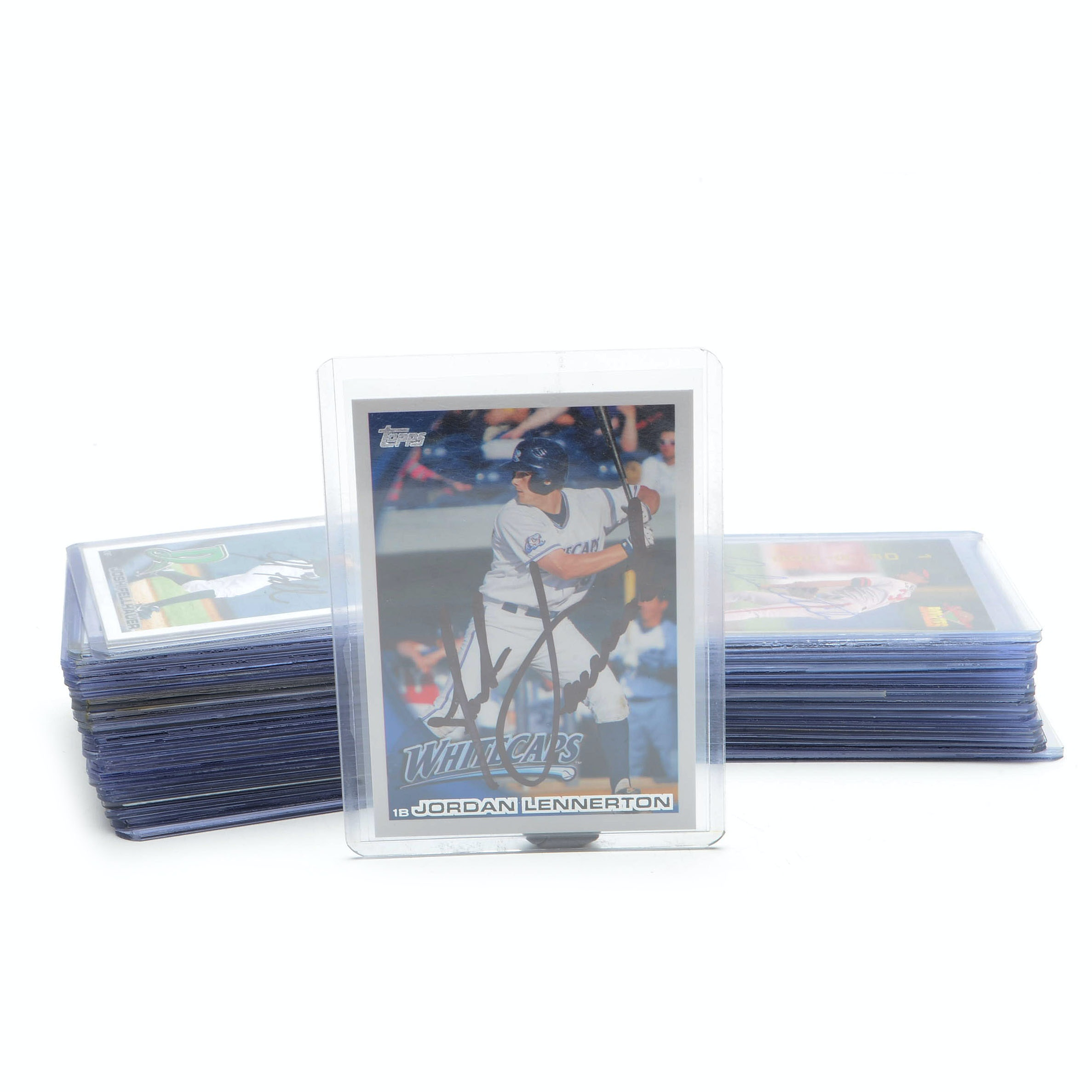 Signed Baseball Cards, Some Certified