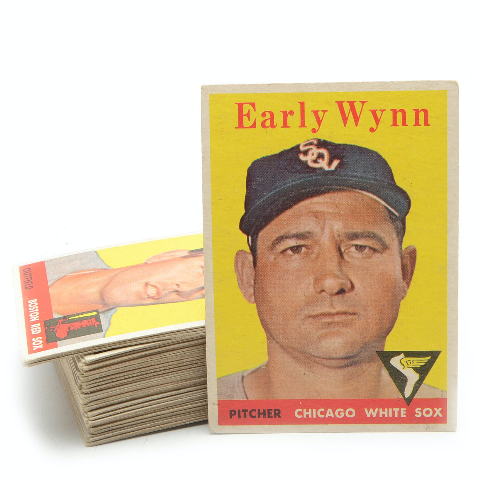 Fifty 1958 Topps Baseball Cards