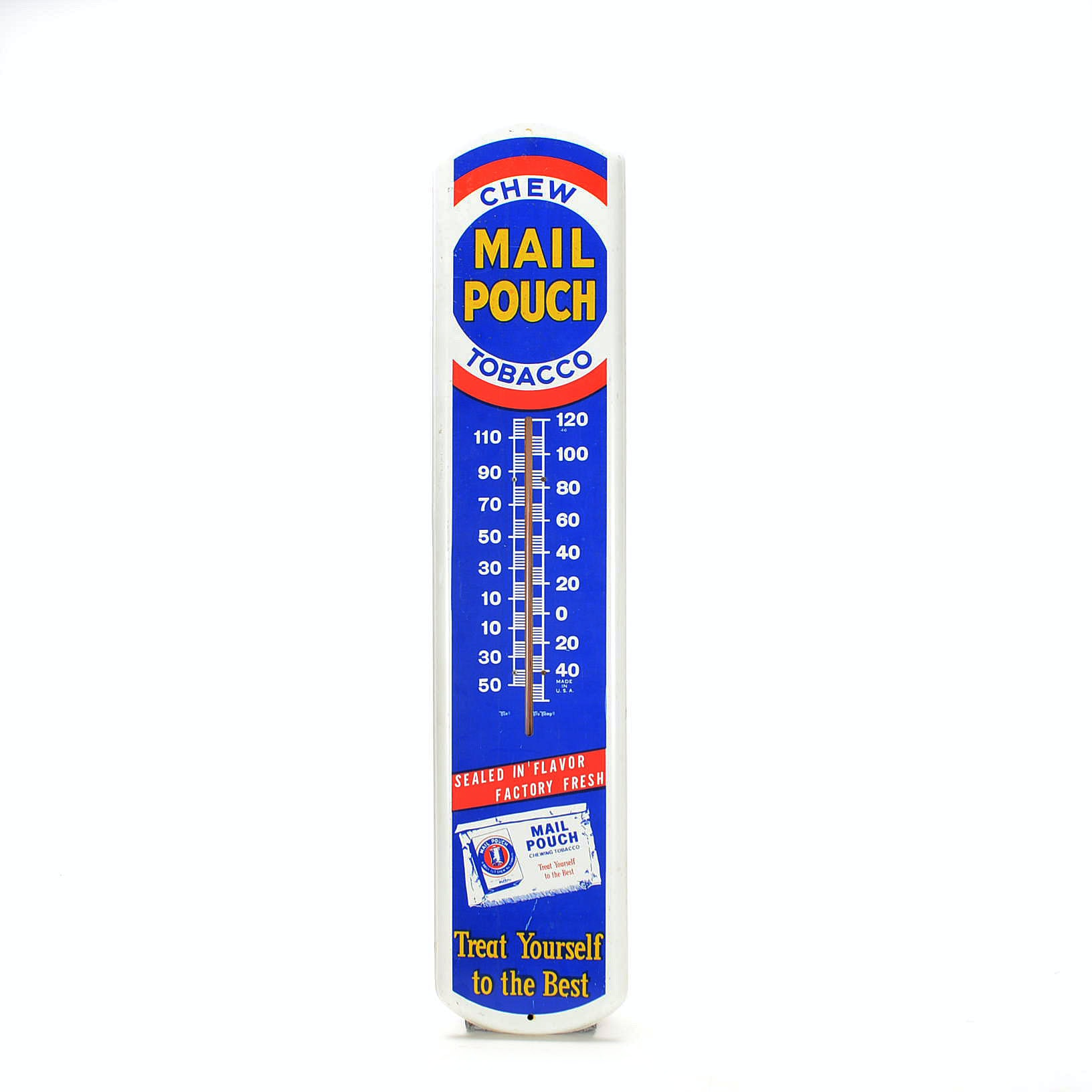 """""""Mail Pouch"""" Thermometer"""