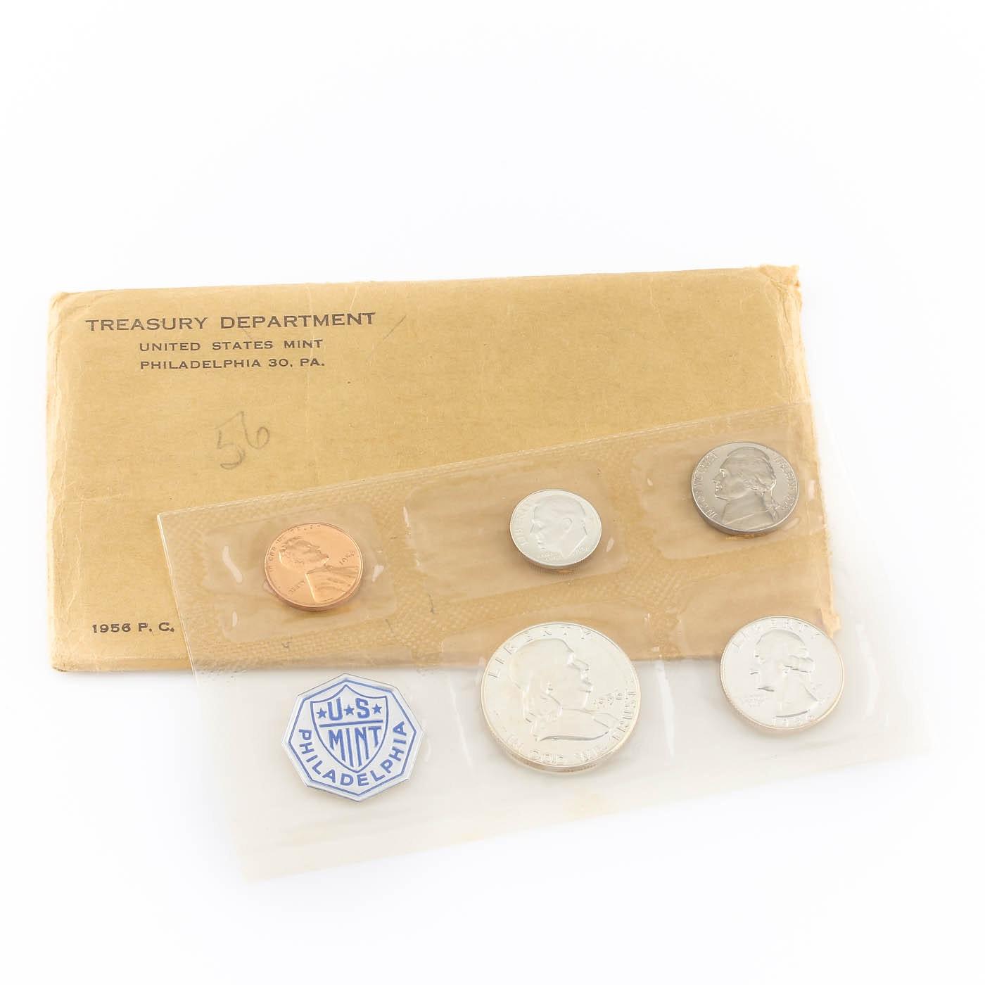 1956 U.S. Philadelphia Mint Proof Set