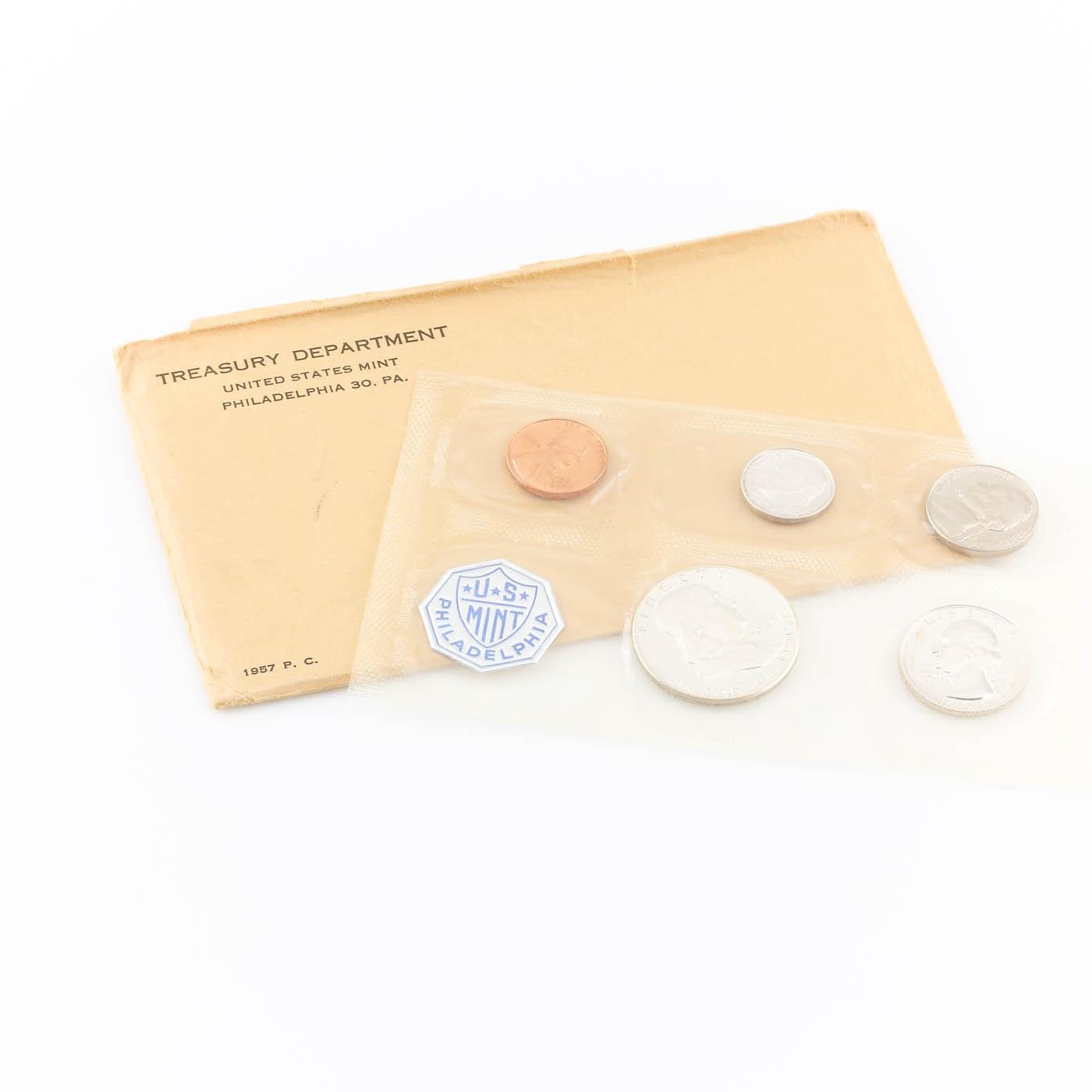 1957 U.S. Philadelphia Mint Proof Set